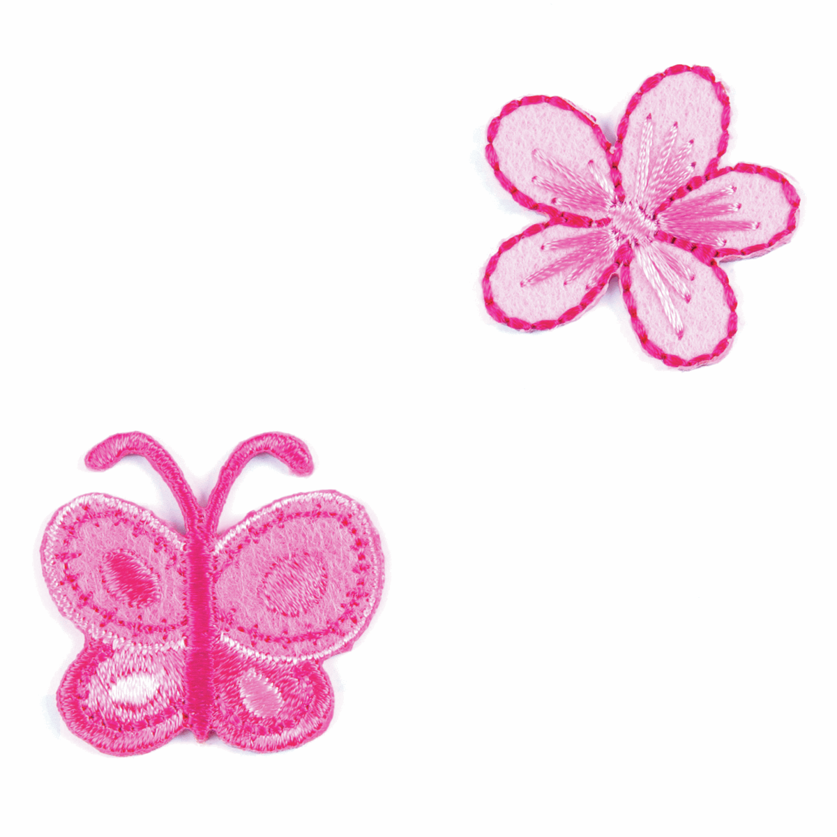 Motif A: Butterfly and Flower
