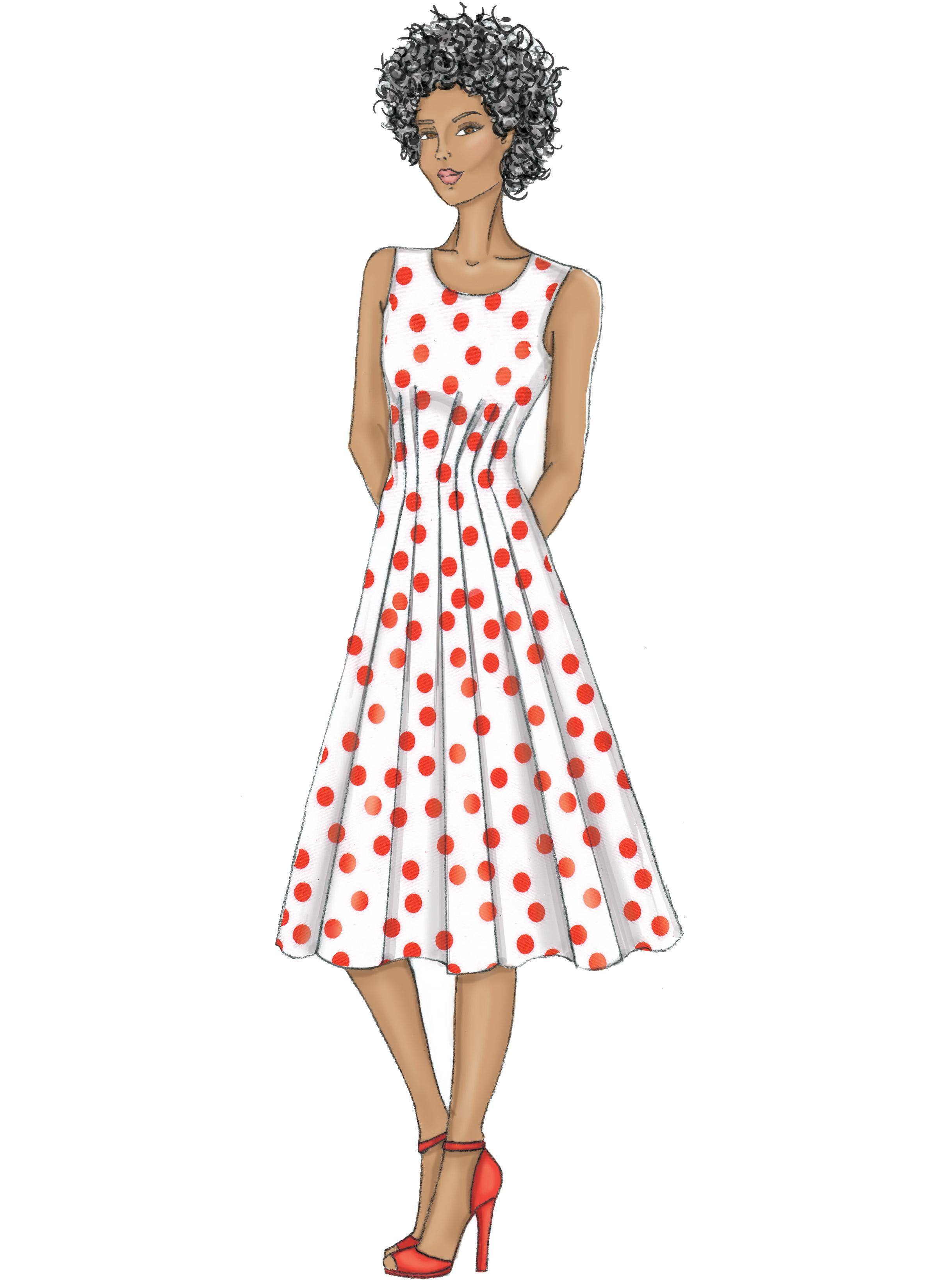 Butterick B6555 Misses' Dress