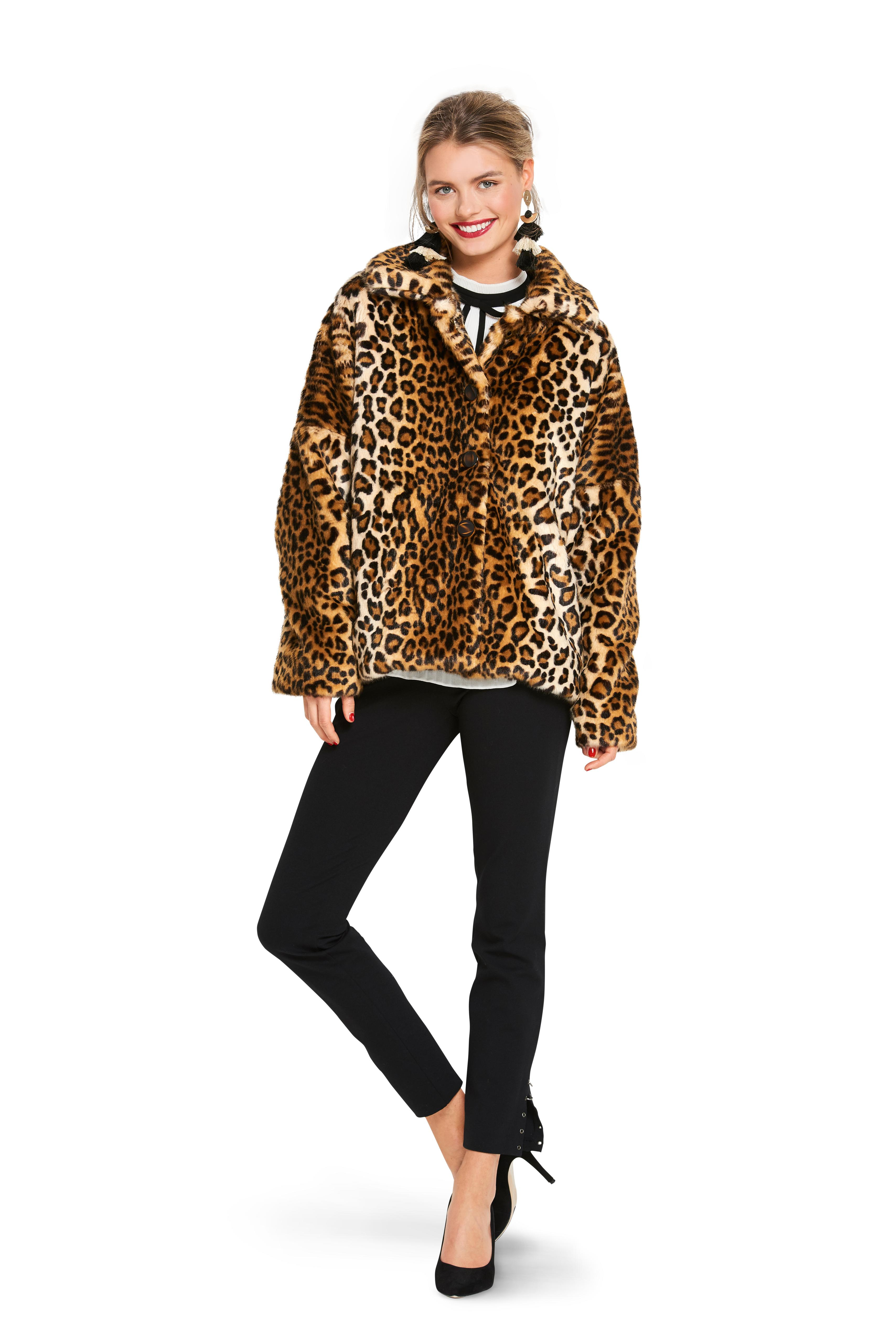 Burda B6359 Women's Fur Coat