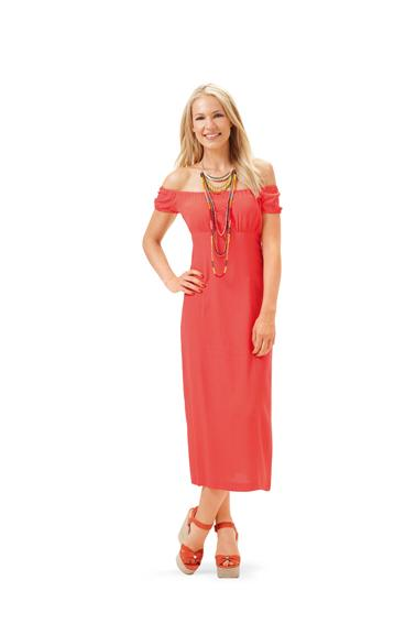 Burda B6686 Women's Dress Sewing Pattern
