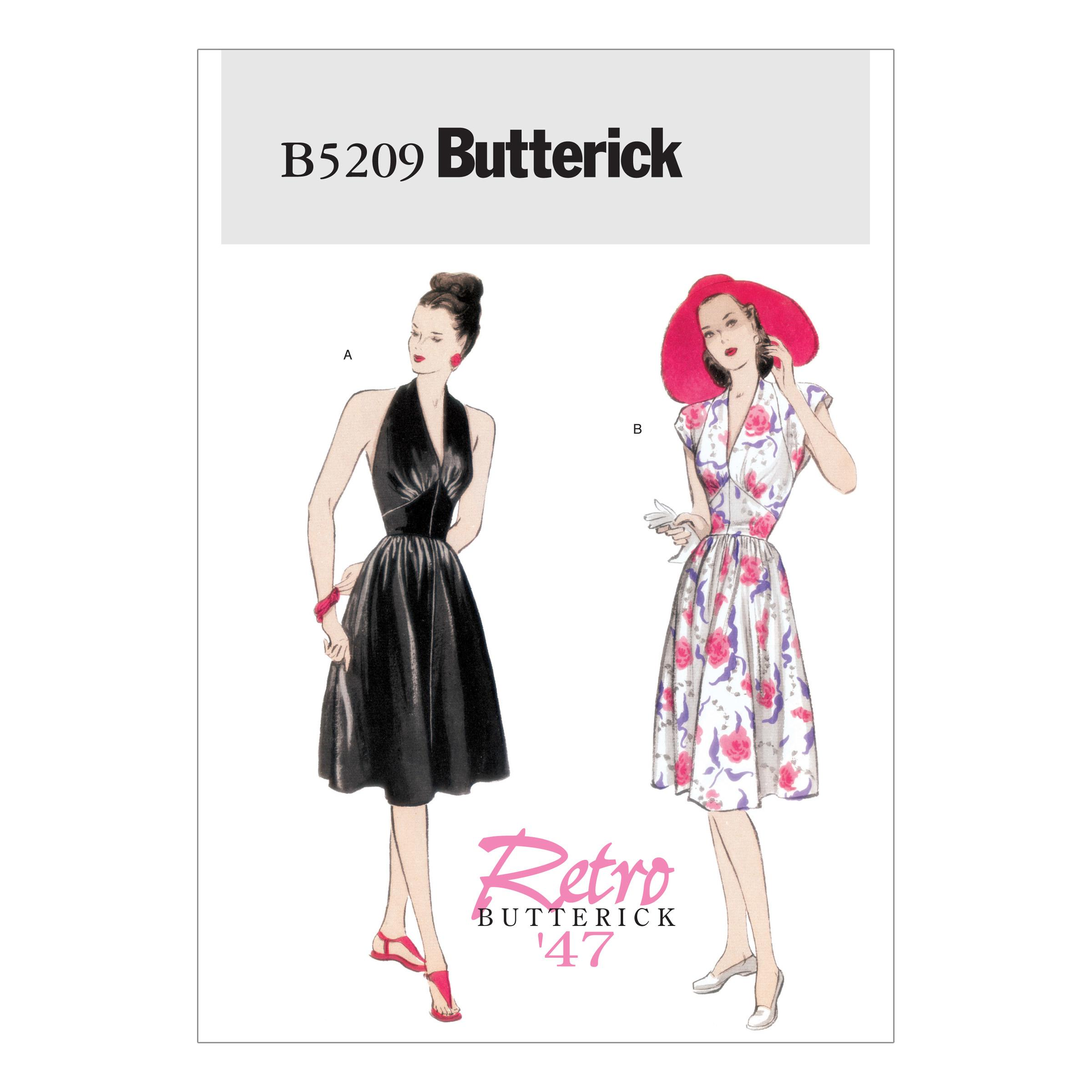 Butterick B5209 Misses' Dress