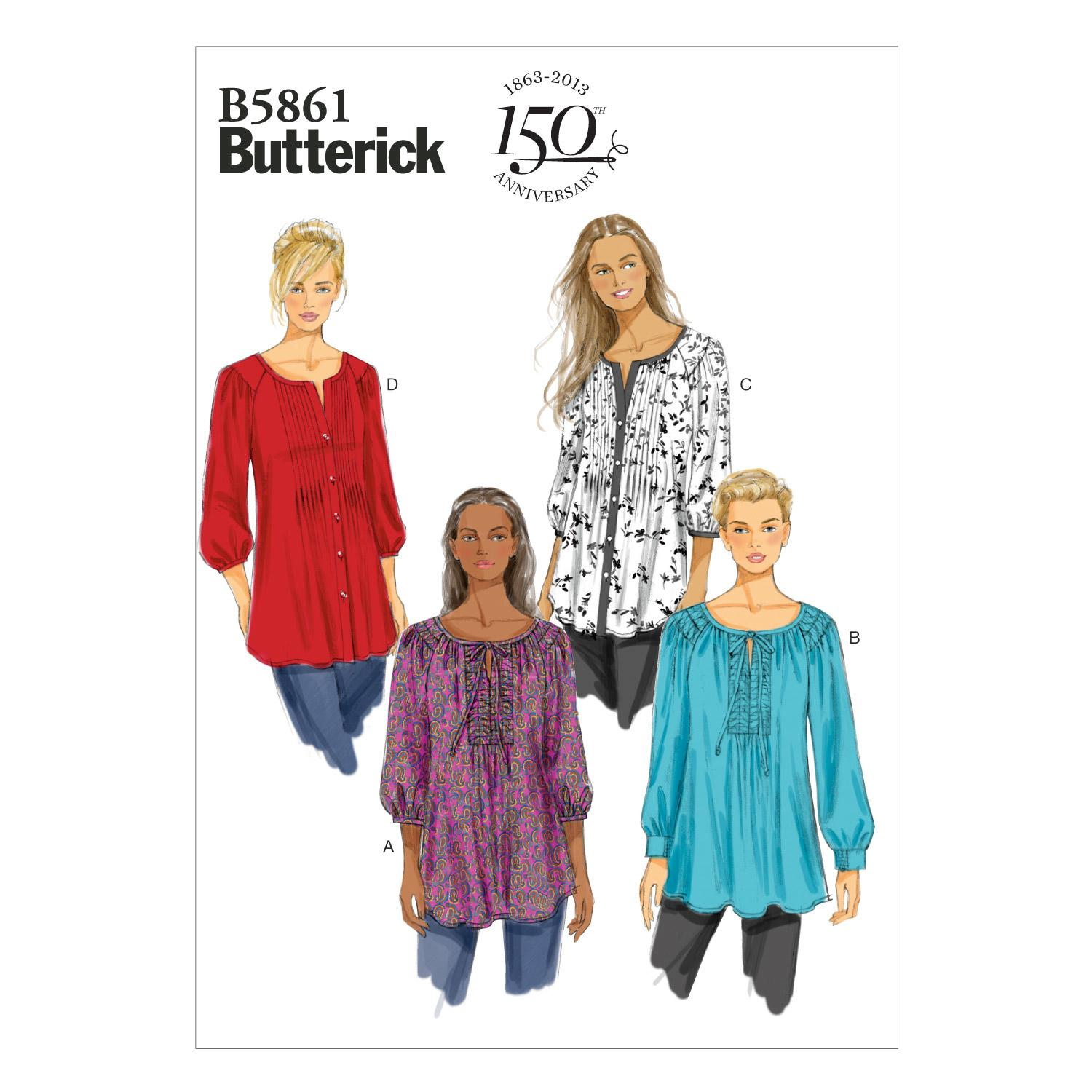 Butterick B5861 Misses'/Women's Tunic