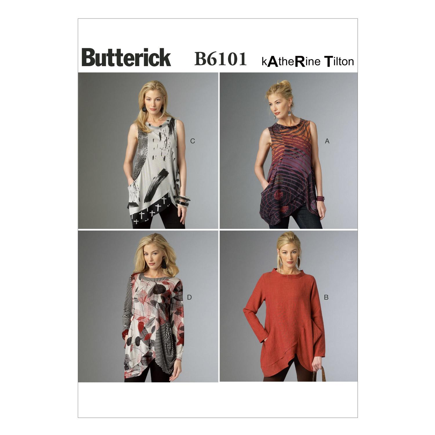 Butterick B6101 Misses' Tunic