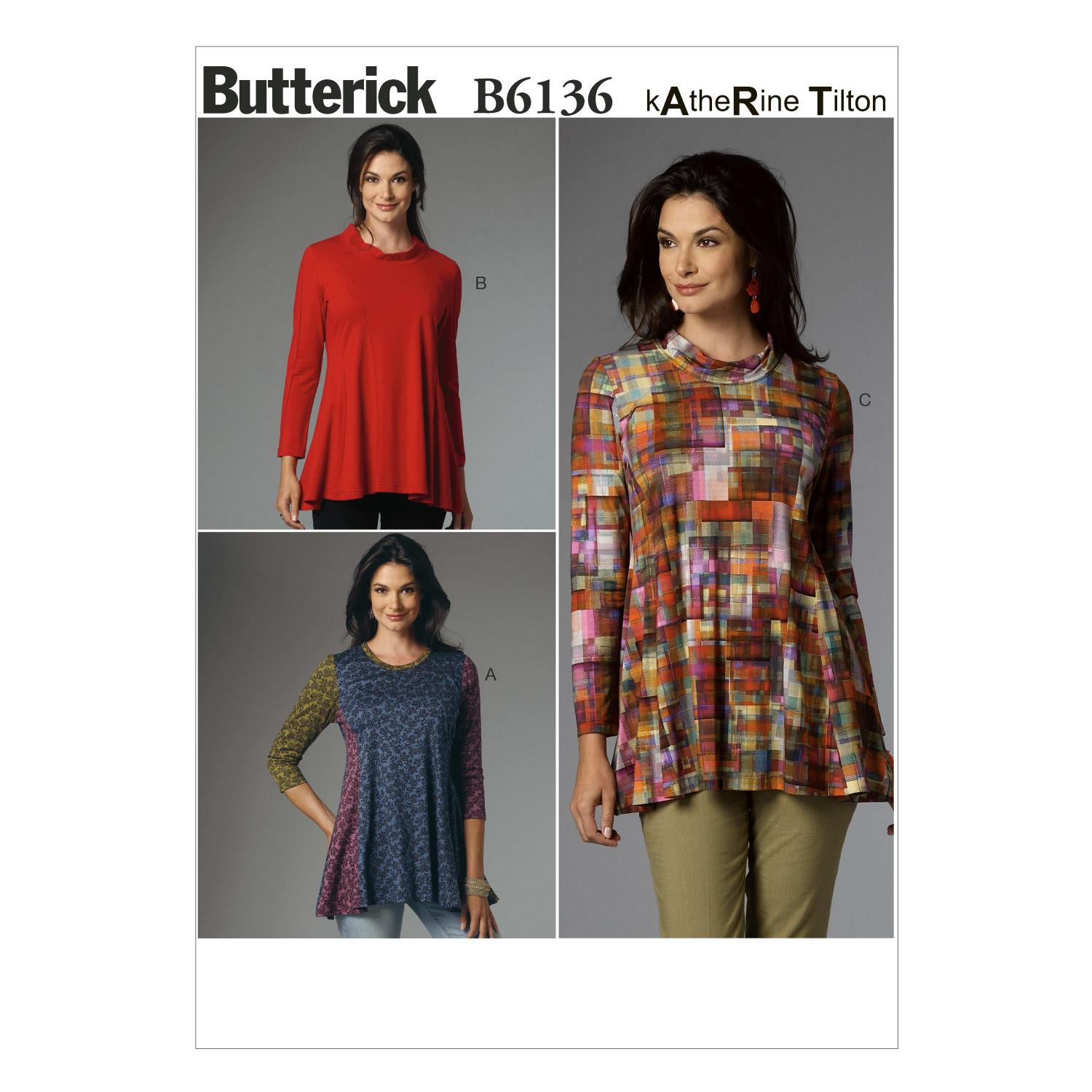 Butterick B6136 Misses' Tunic