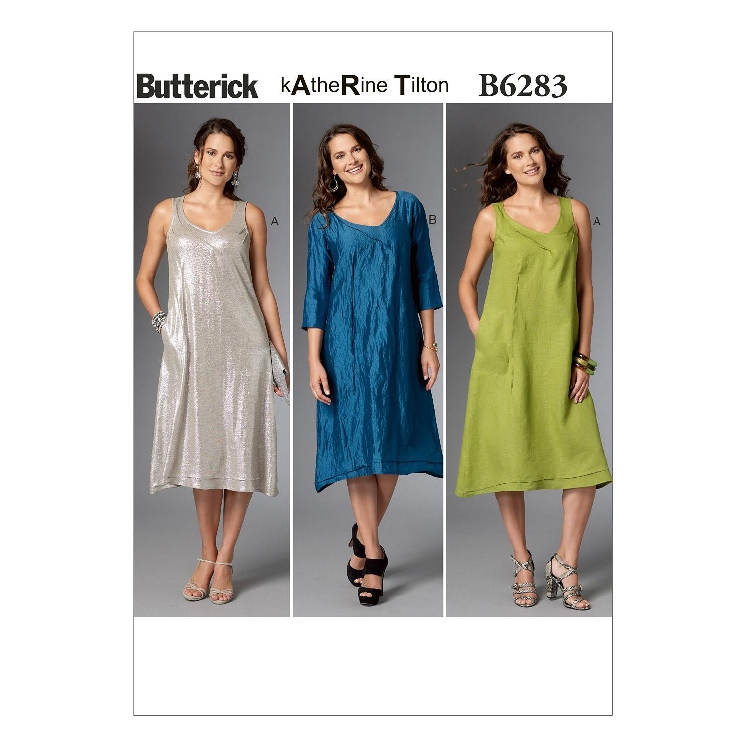 Butterick B6283 Misses' Dress