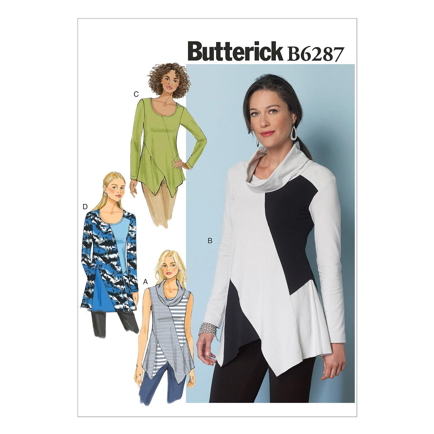 Butterick B6287 Misses' Tunic