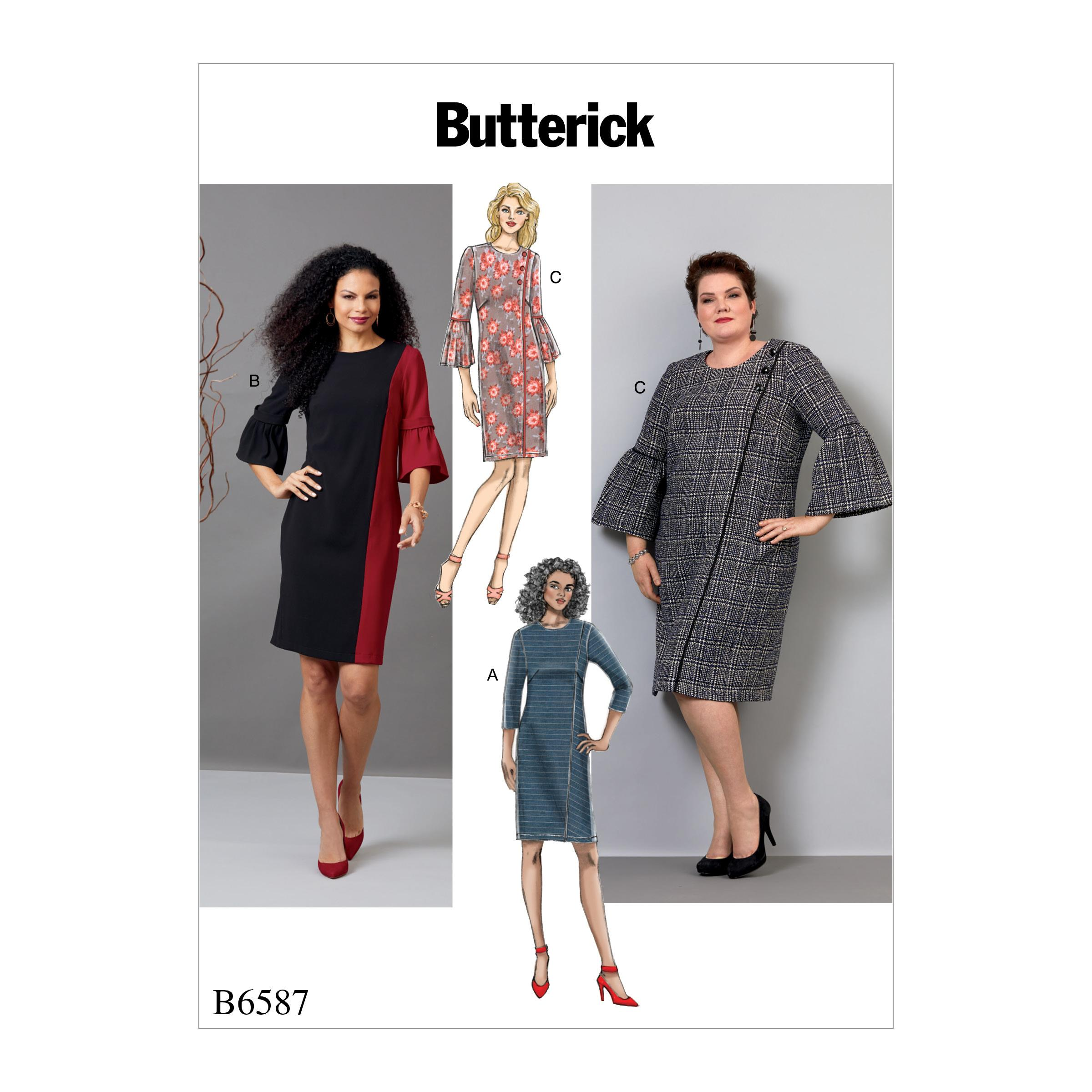 Butterick B6587 Misses'/ Women's Dress