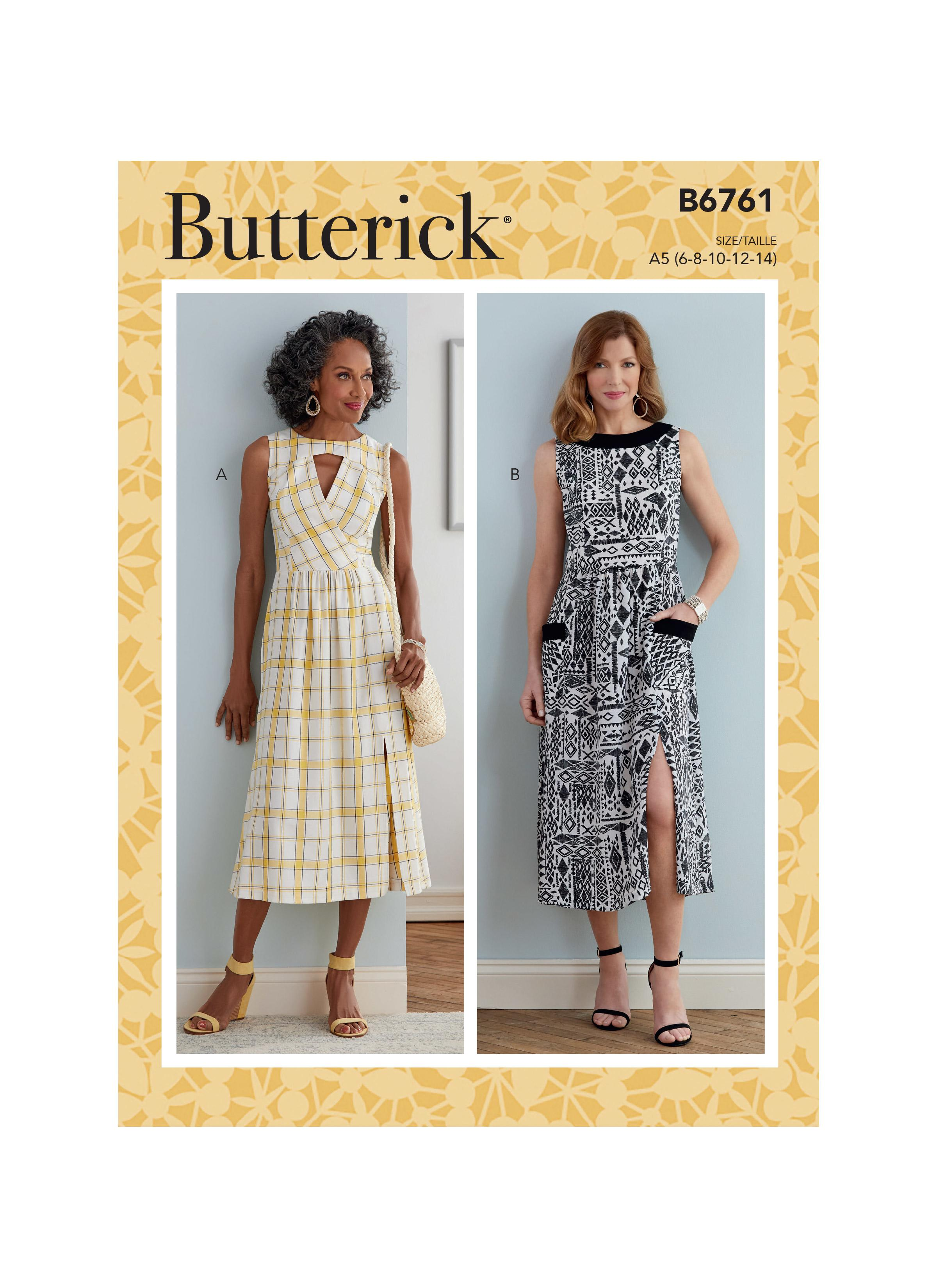 Butterick B6761 Misses' & Misses' Petite Dress