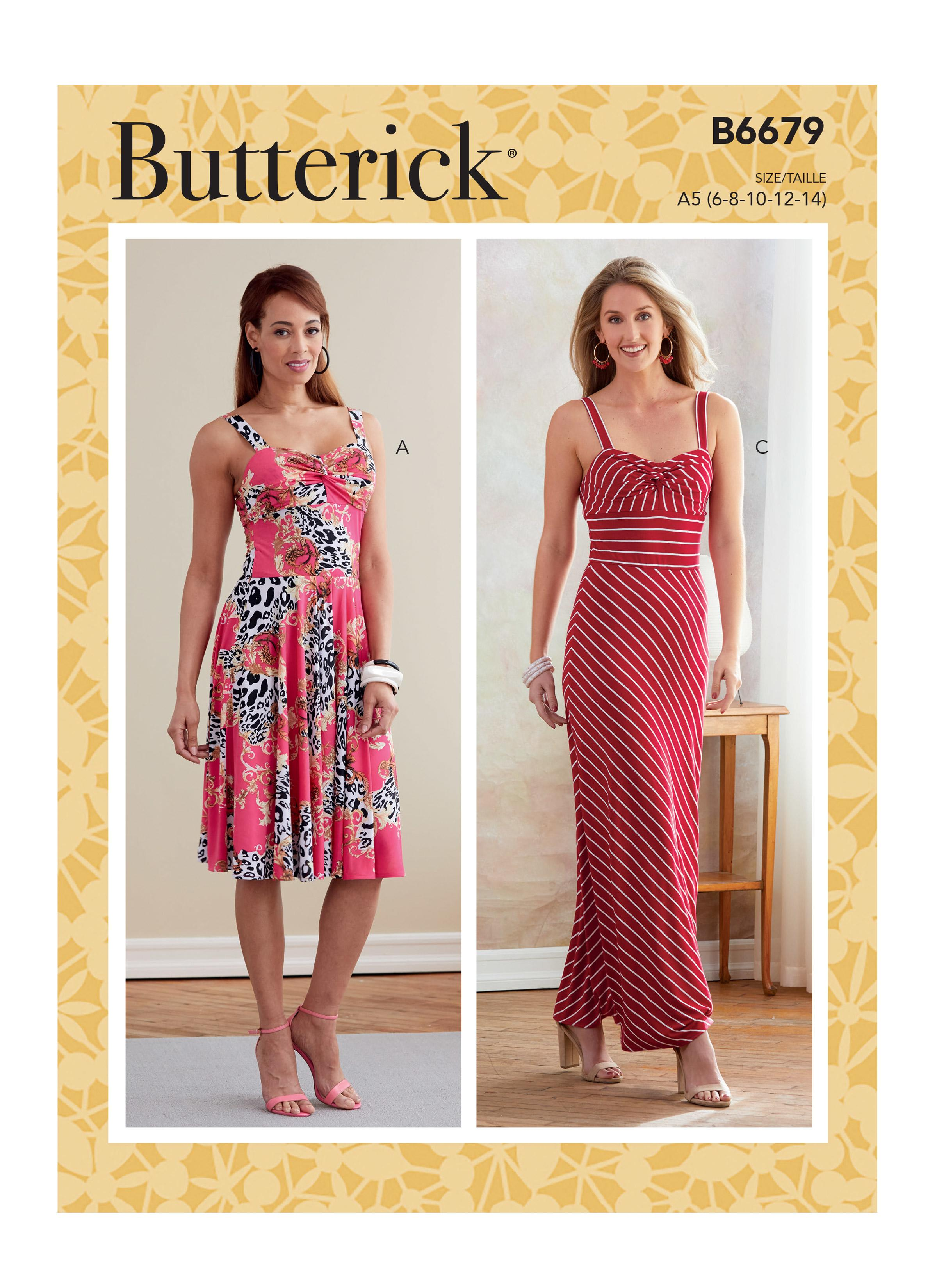 Butterick B6679 Misses' Dress
