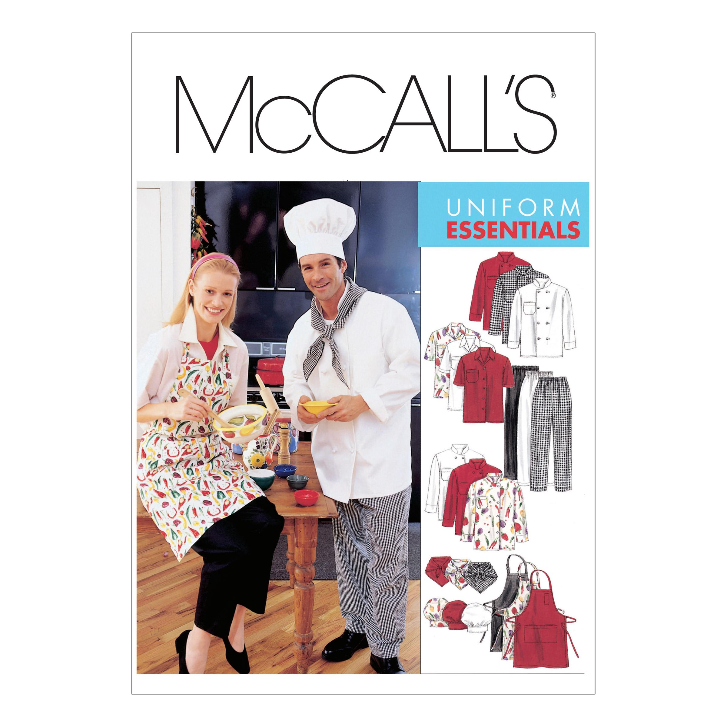 McCalls M2233 Aprons, Men, Uniforms