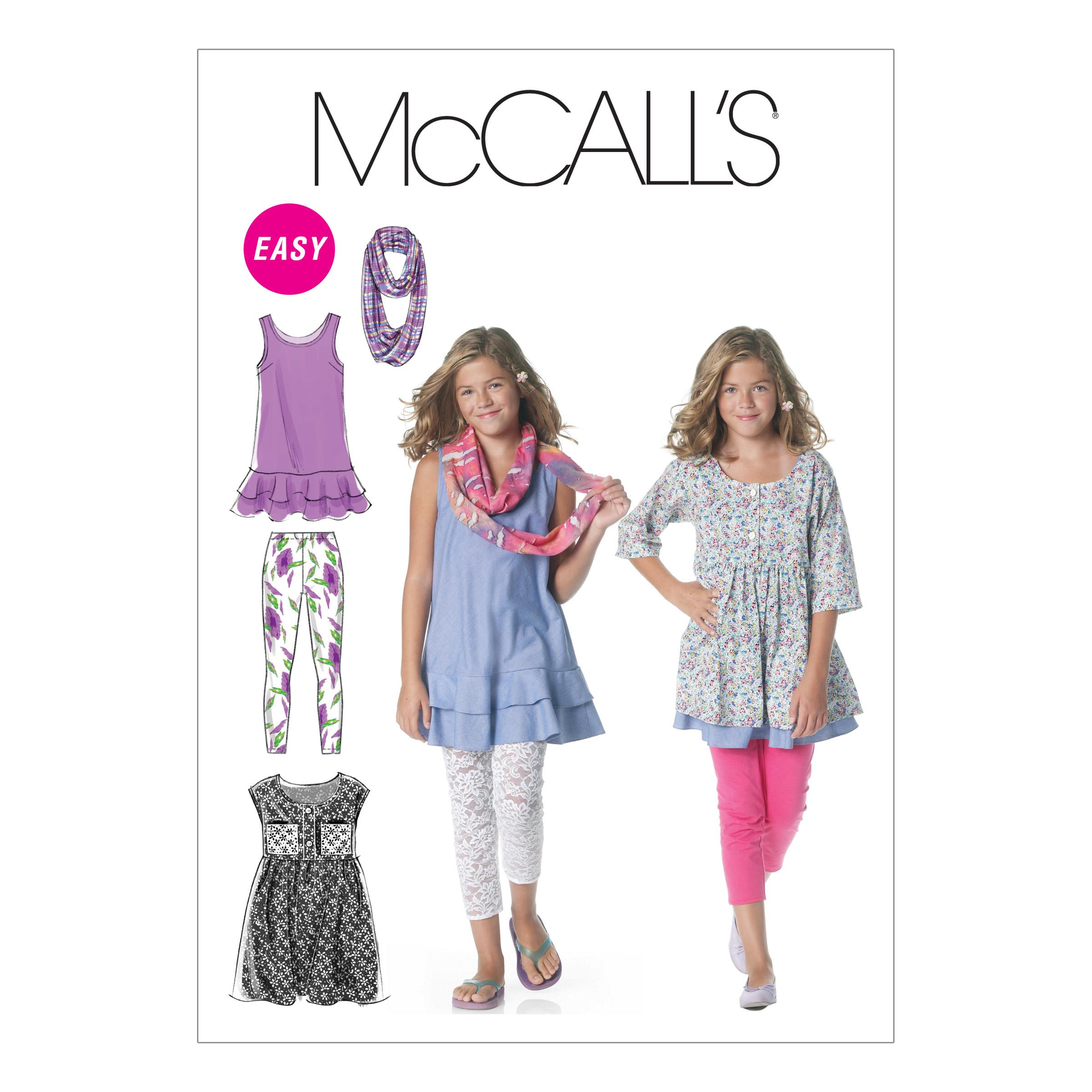 McCalls M6275 Children, Girls/Boys