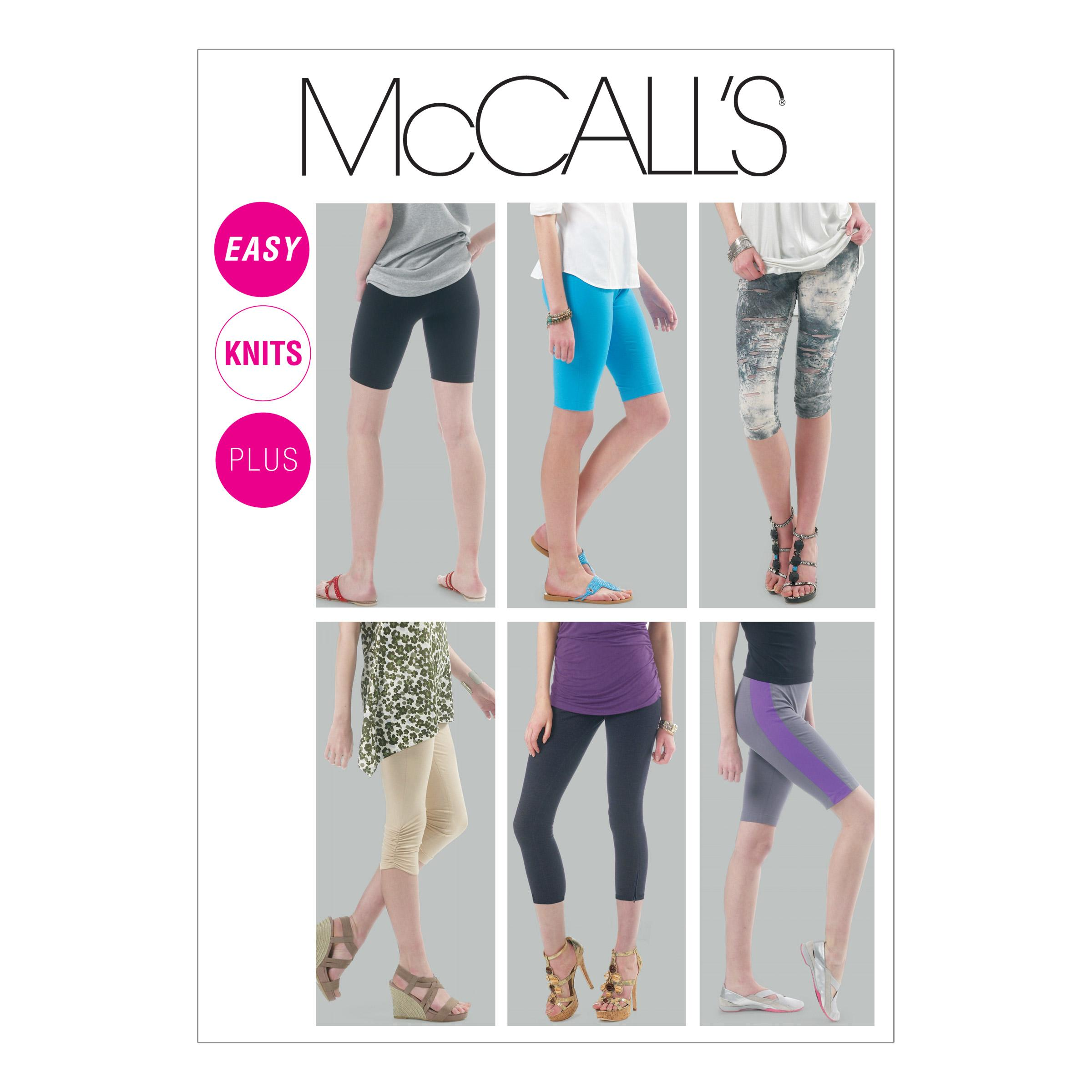 McCalls M6360 Misses, Misses/Women/Girls, Pants/Jumpsuits, Pants/Shorts & Jumpsuits, Plus Size