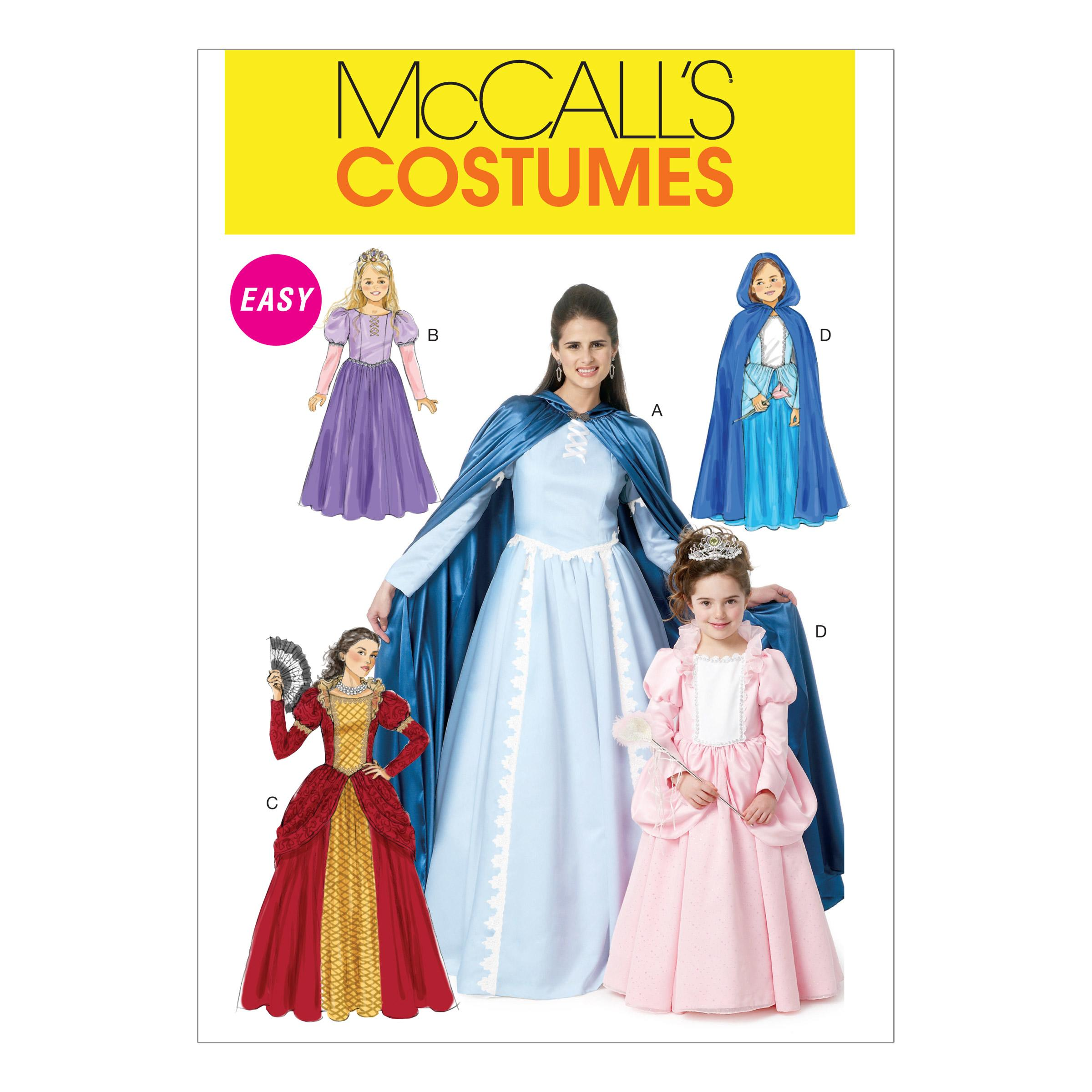 McCalls M6420 Costumes, Halloween