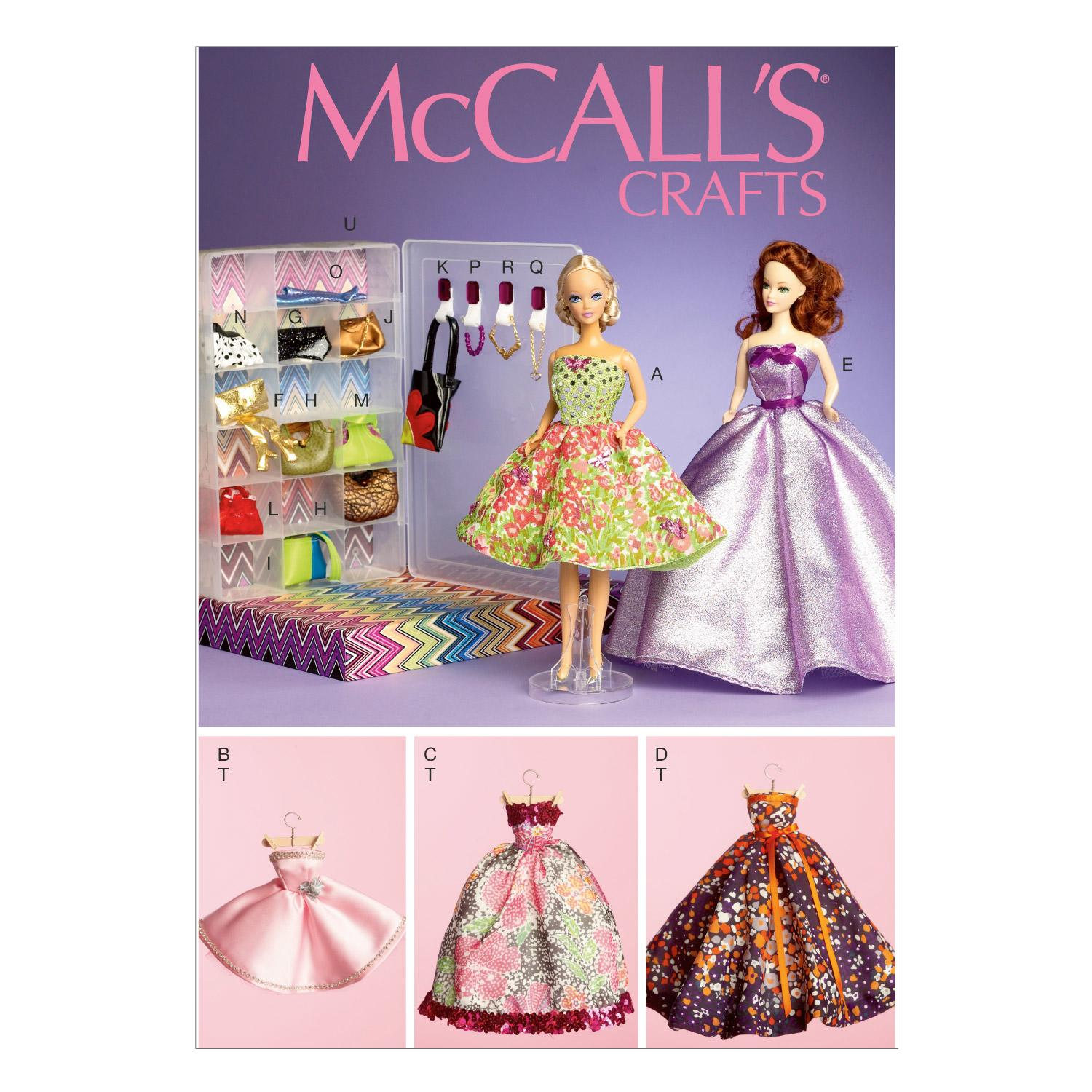McCalls M6903 Crafts/Dolls/Pets