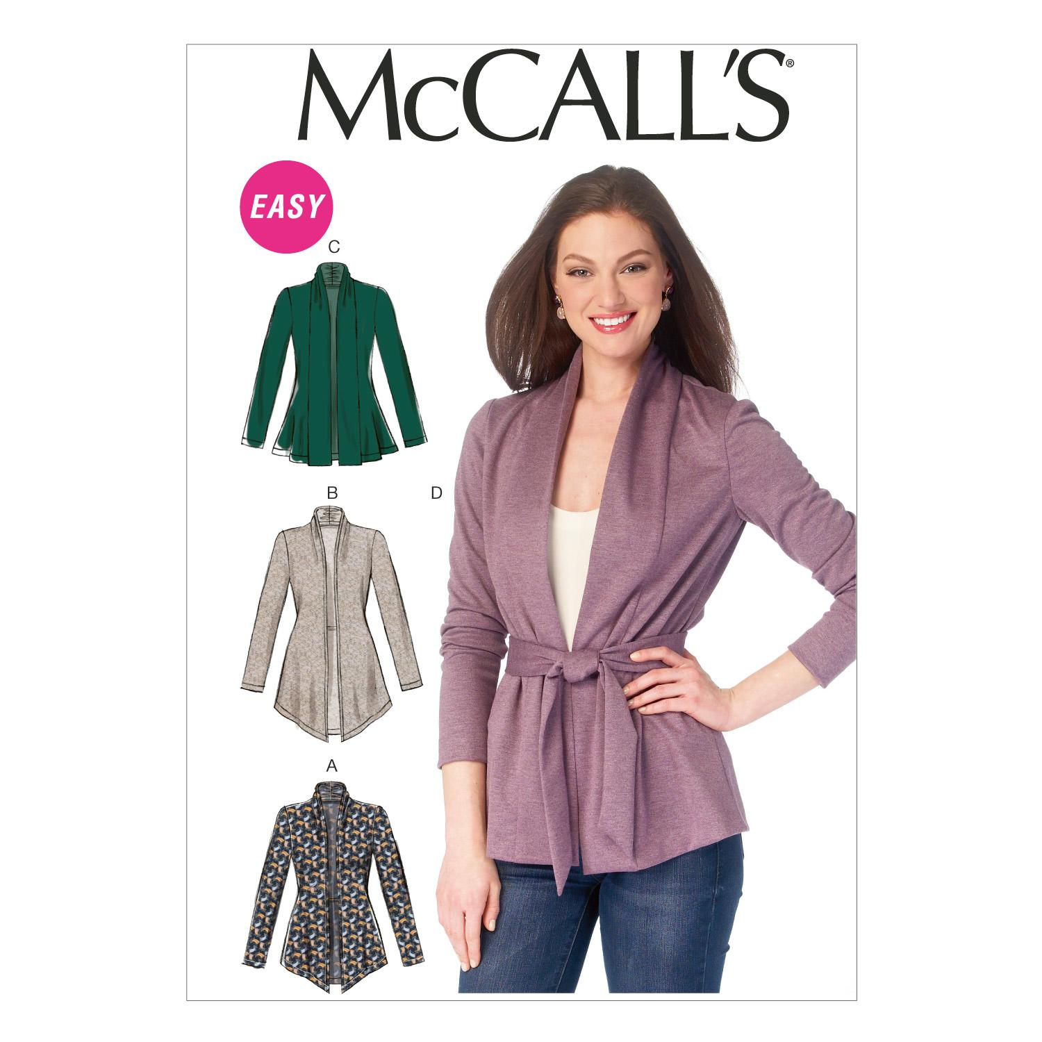 McCalls M6996 Jackets/Vests