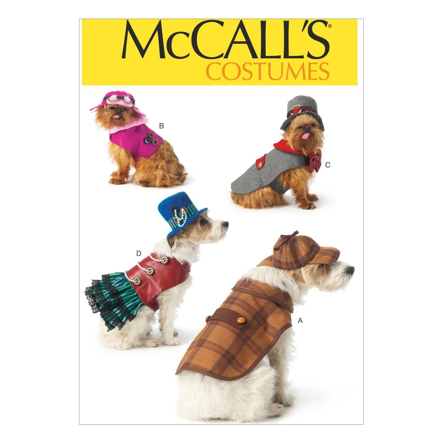 McCalls M7004 Crafts/Dolls/Pets