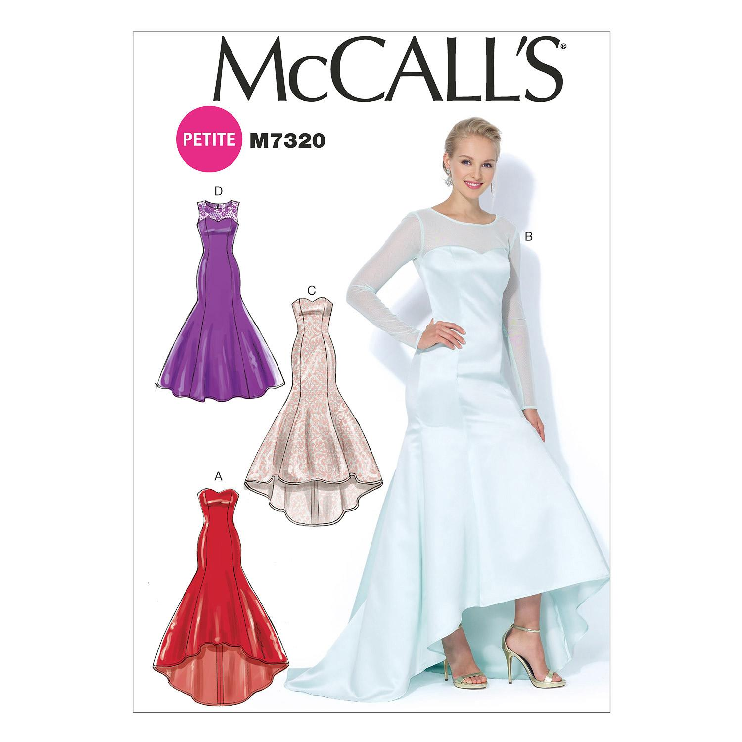 McCalls M7320 Dresses, Evening/Prom