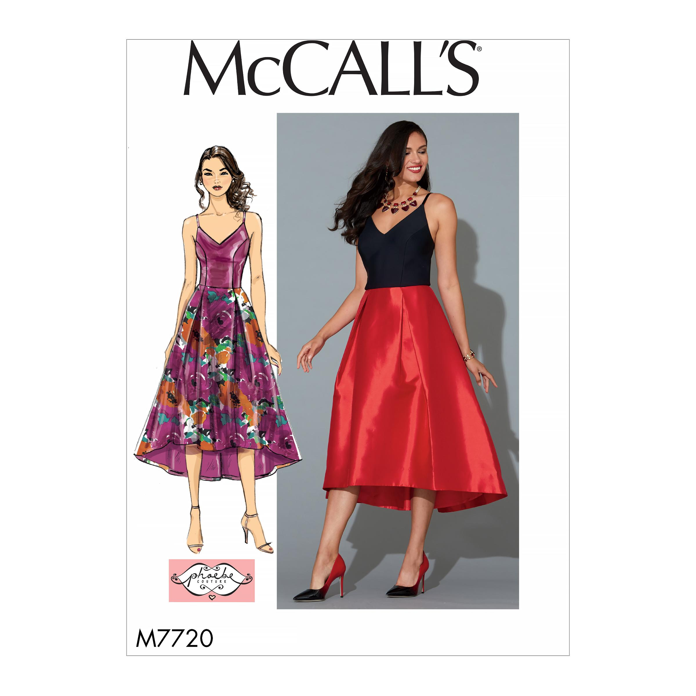 McCalls M7720 Misses Dresses, Misses Prom, Evening & Bridal