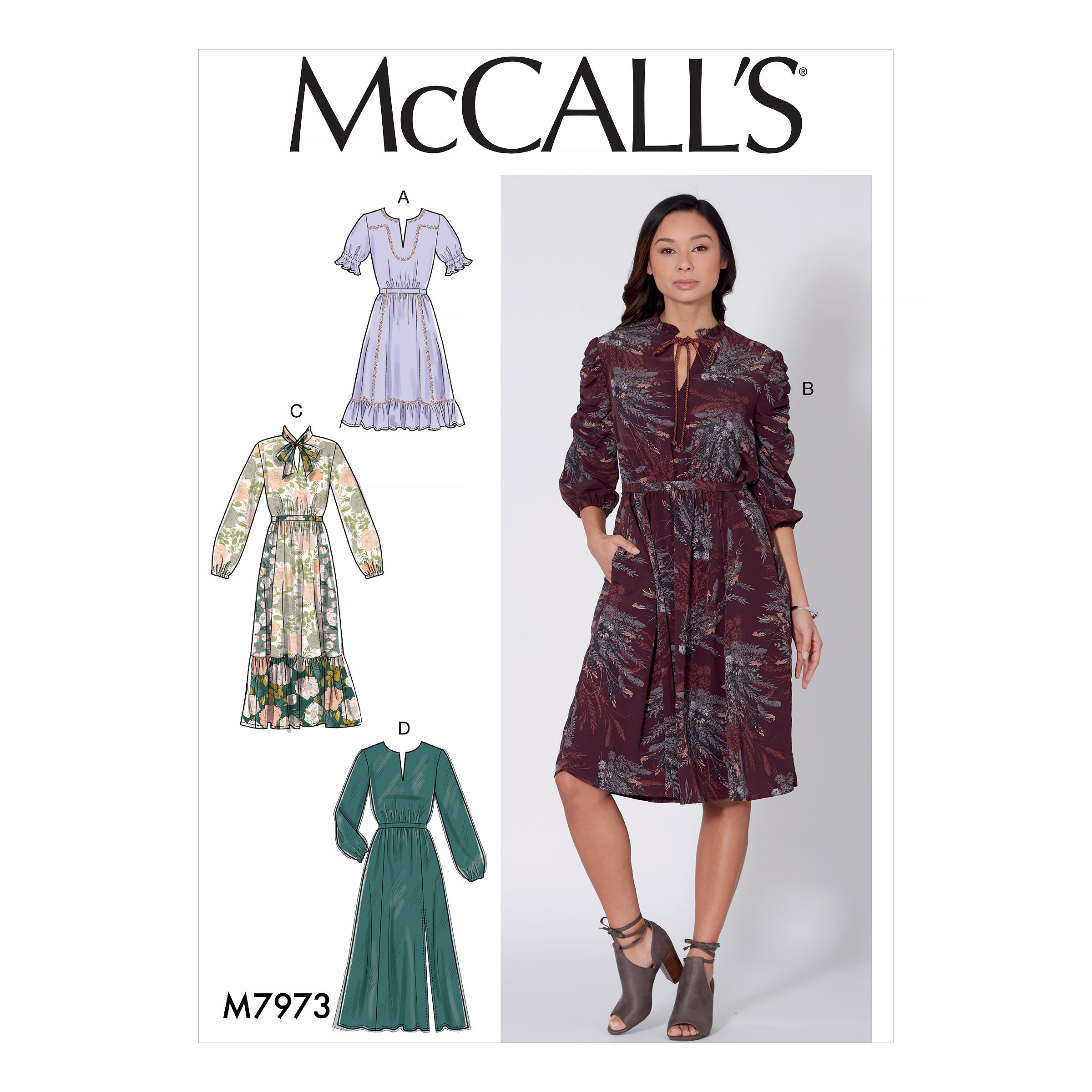 McCalls M7973 Misses Dresses, Misses Prom, Evening & Bridal