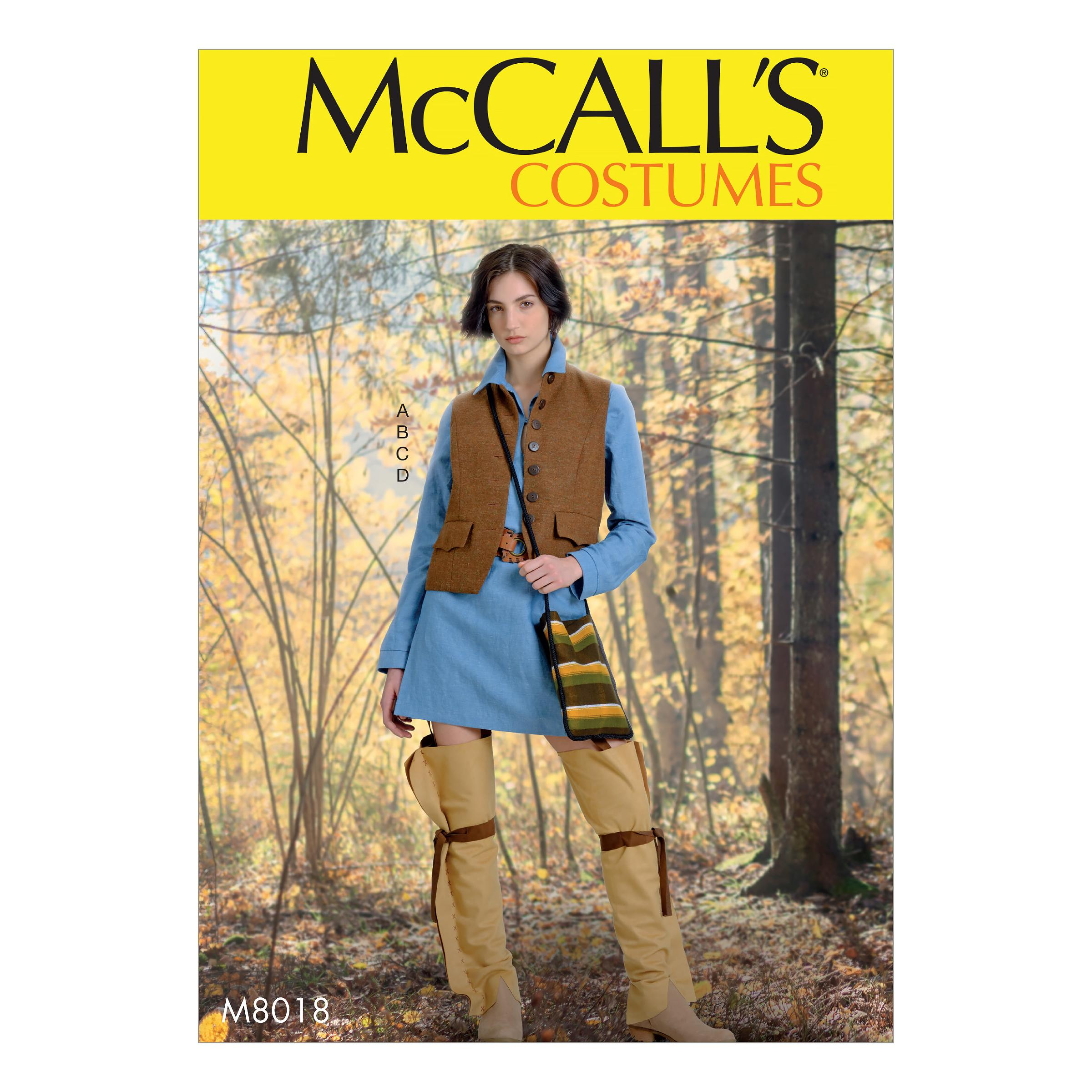 McCalls M8018 Misses , Costumes