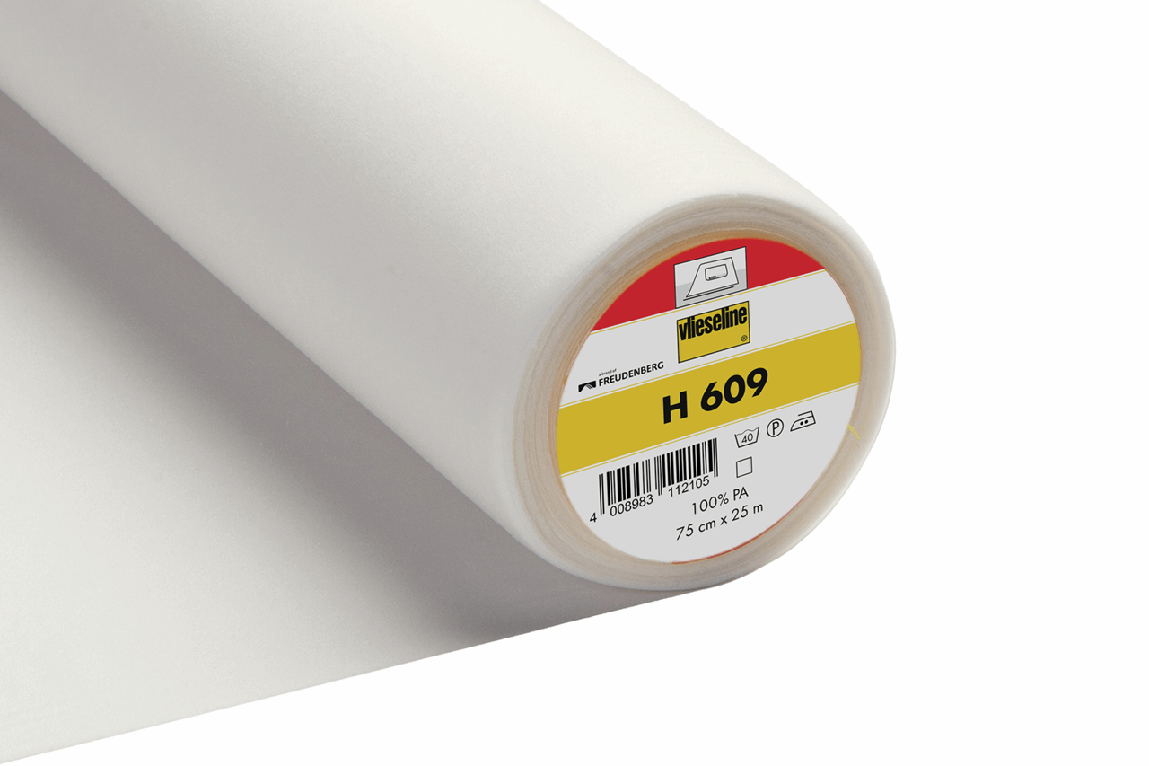 Interlining: Fusible Knit: 75cm: White H609