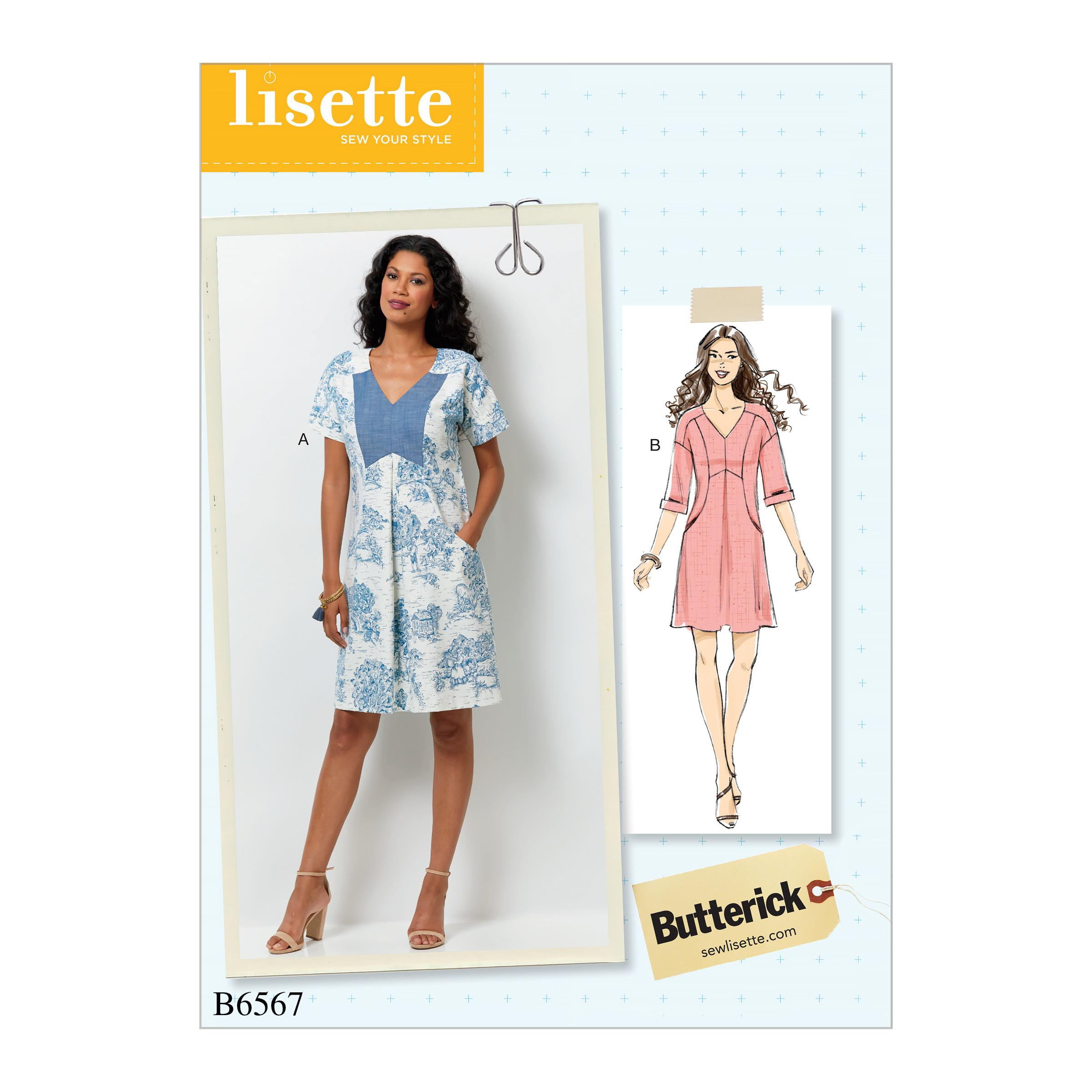 Butterick B6567 Misses' Dress