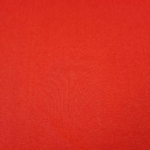 Plain Two Way Cotton Stretch Red