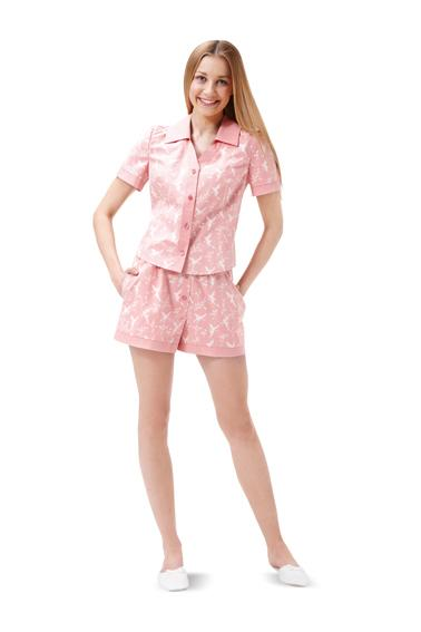 Burda B6742 Women's Sleepwear Sewing Pattern