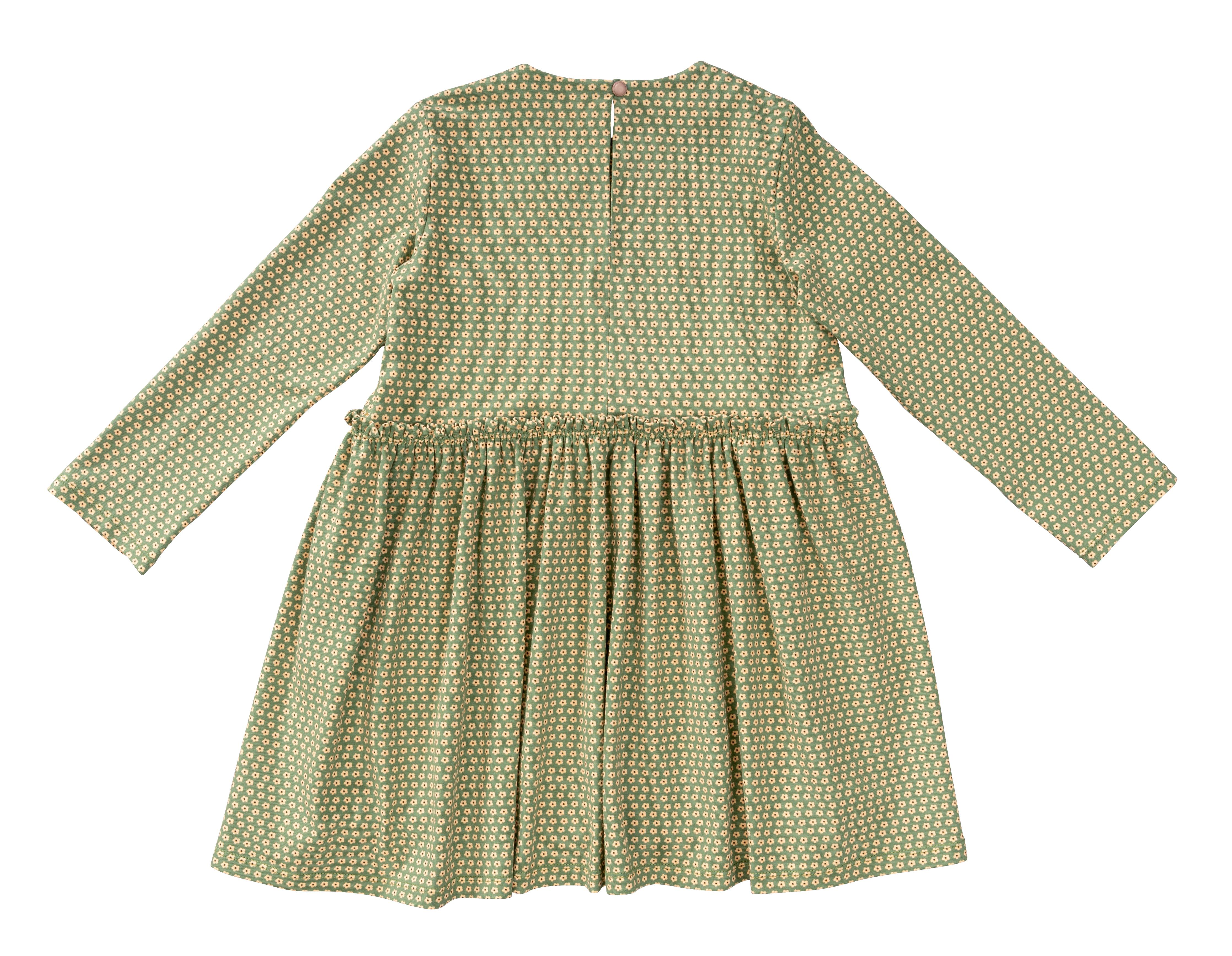 Burda 9310 Children's Dress, Pull-On with Partially Pleated Skirt or Feature Pockets
