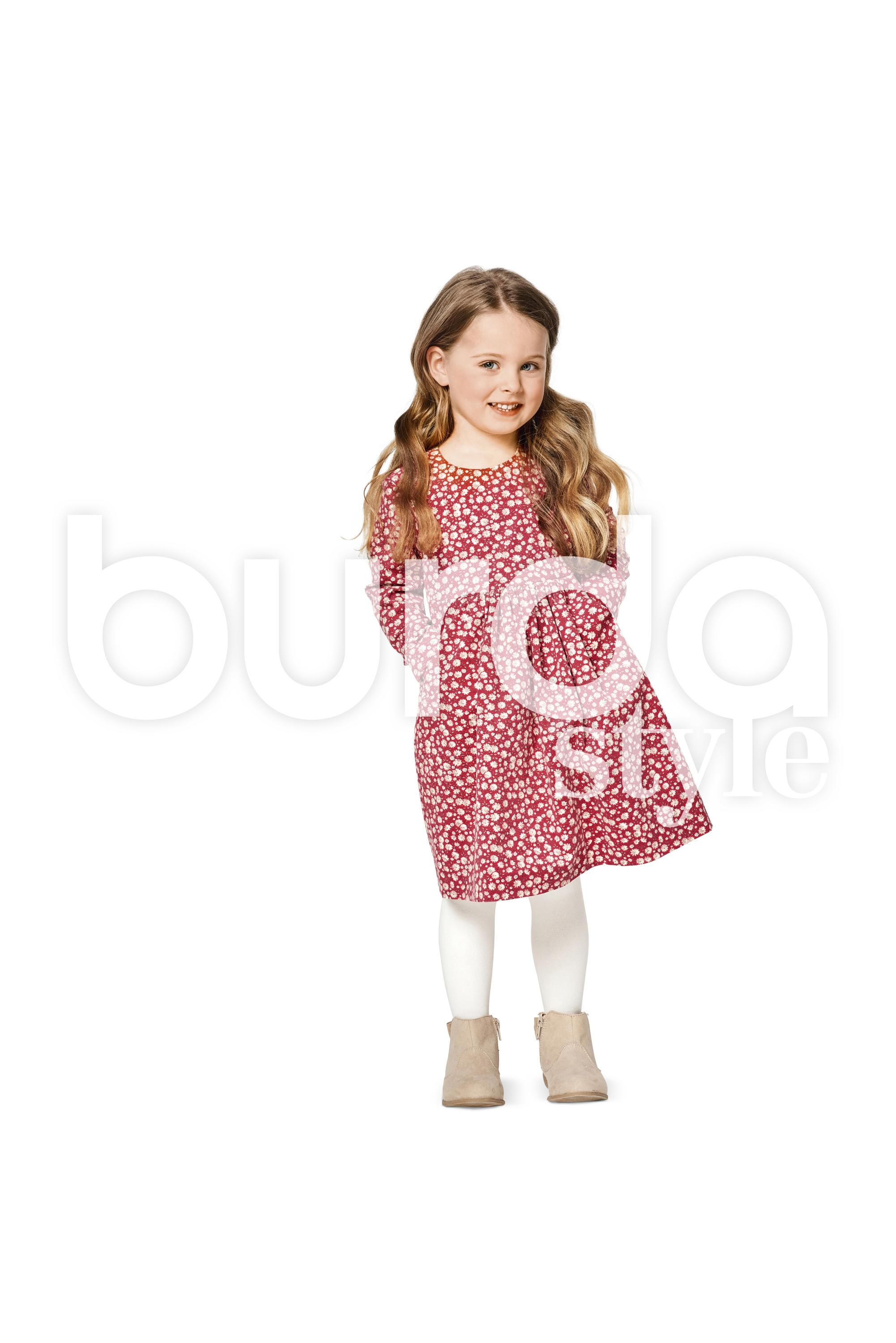 Burda B9350 Child's Dresses
