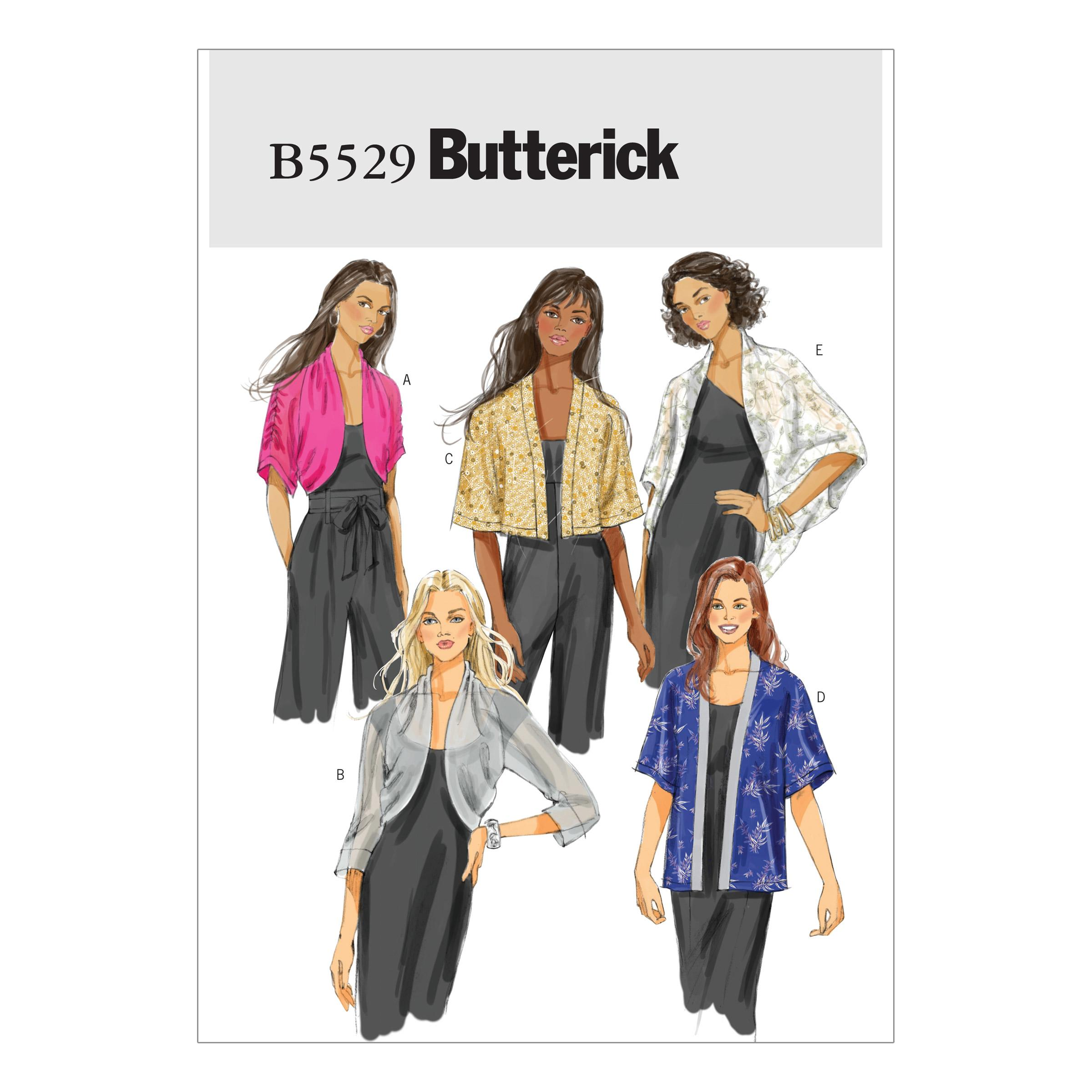 Butterick B5529 Misses' Jacket