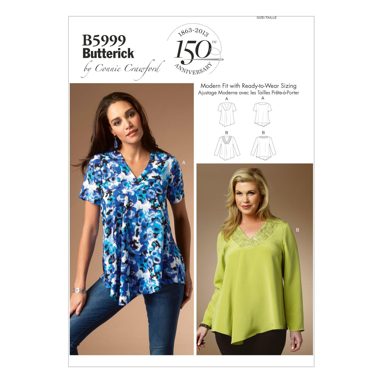 Butterick B5999 Misses'/Women's Top