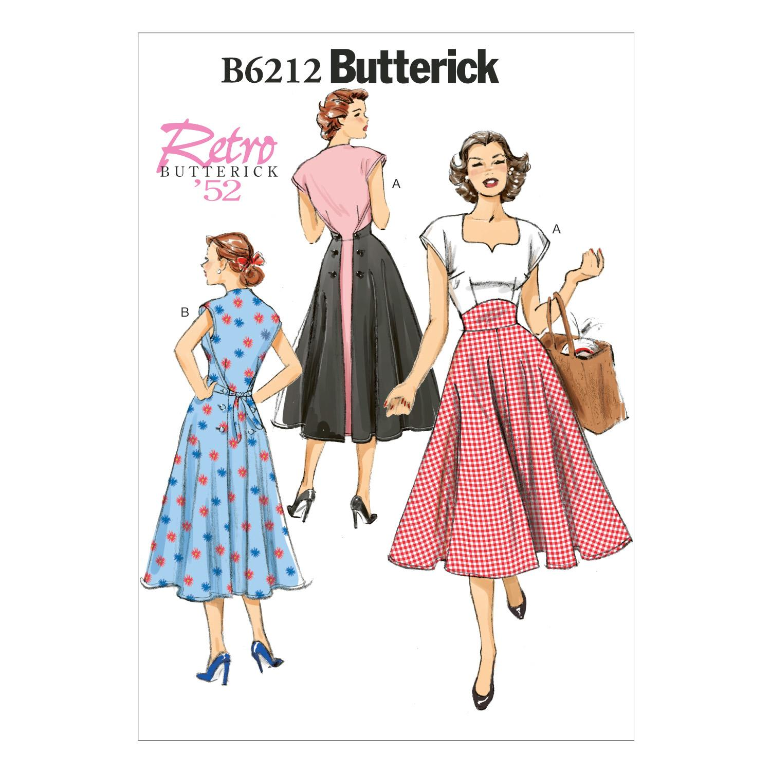 Butterick B6212 Misses' Dress