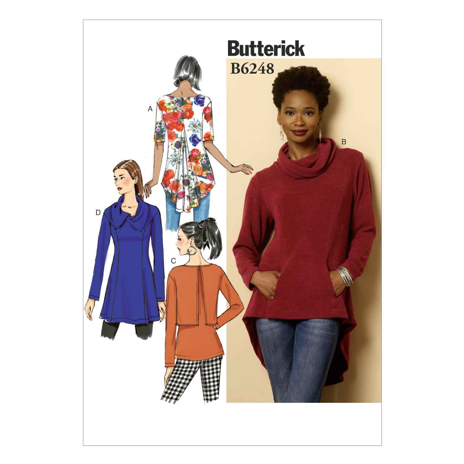Butterick B6248 Misses' Tunic