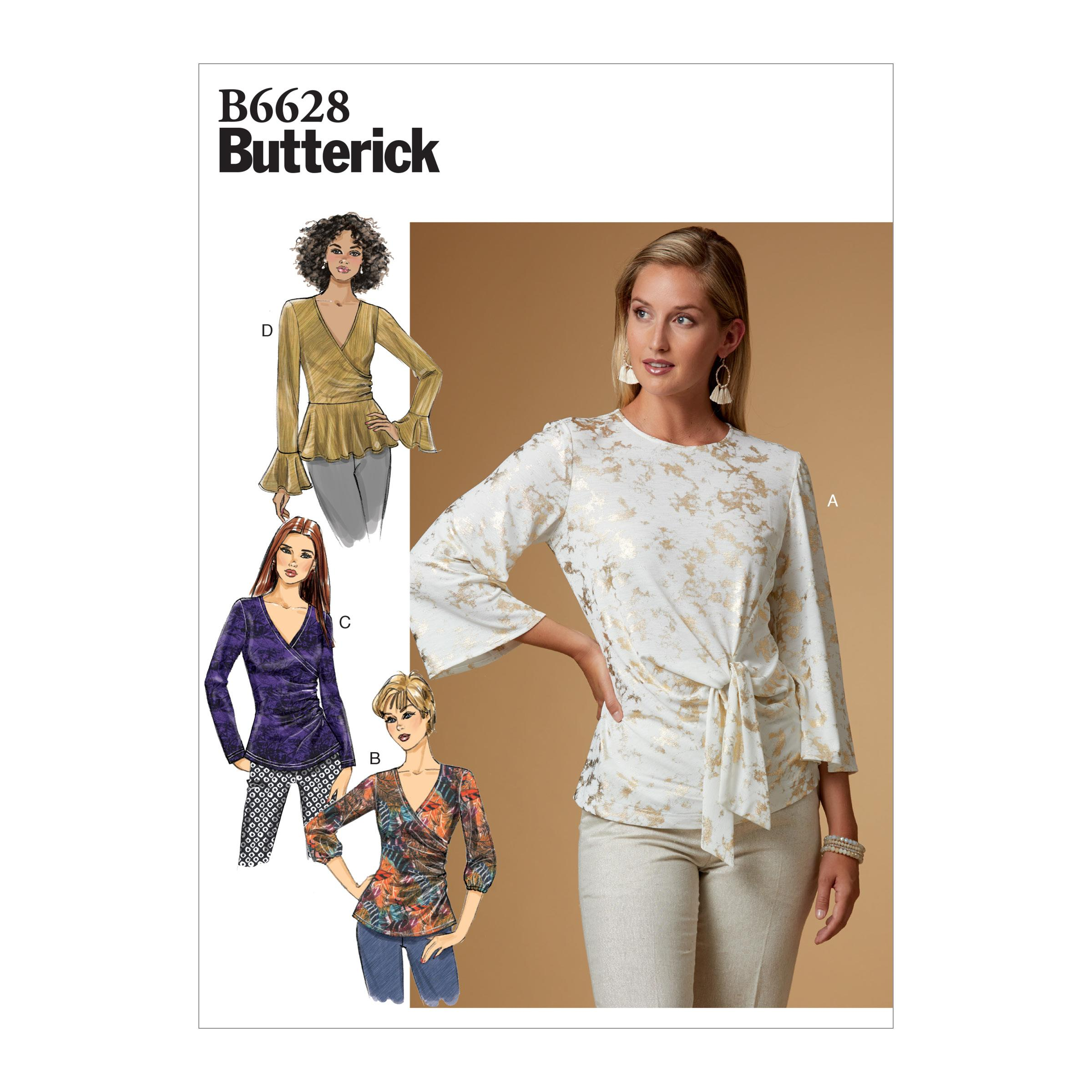 Butterick B6628 Misses' Top