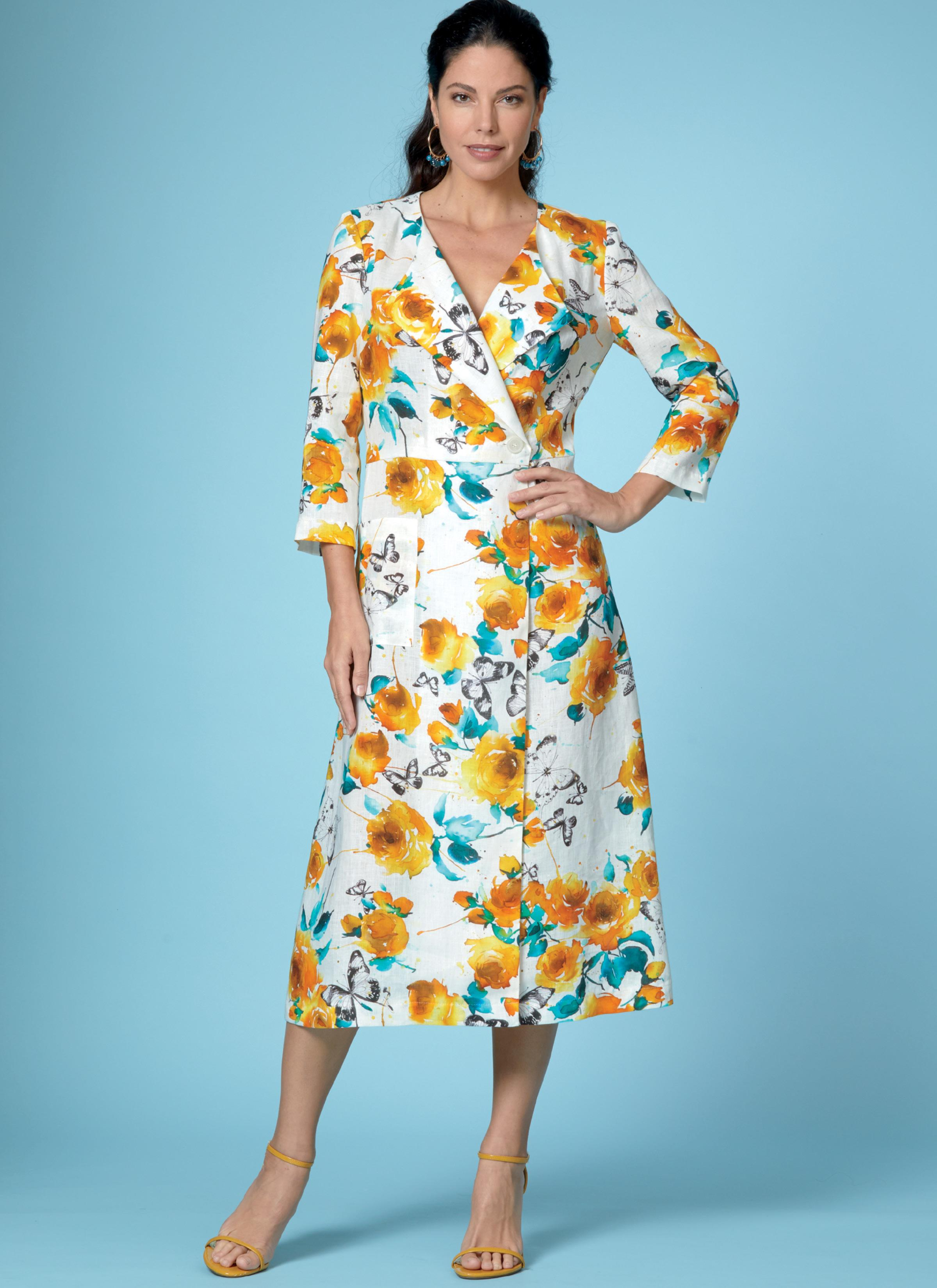 Butterick B6670 Misses' Top, Dress, Skirt and Pants