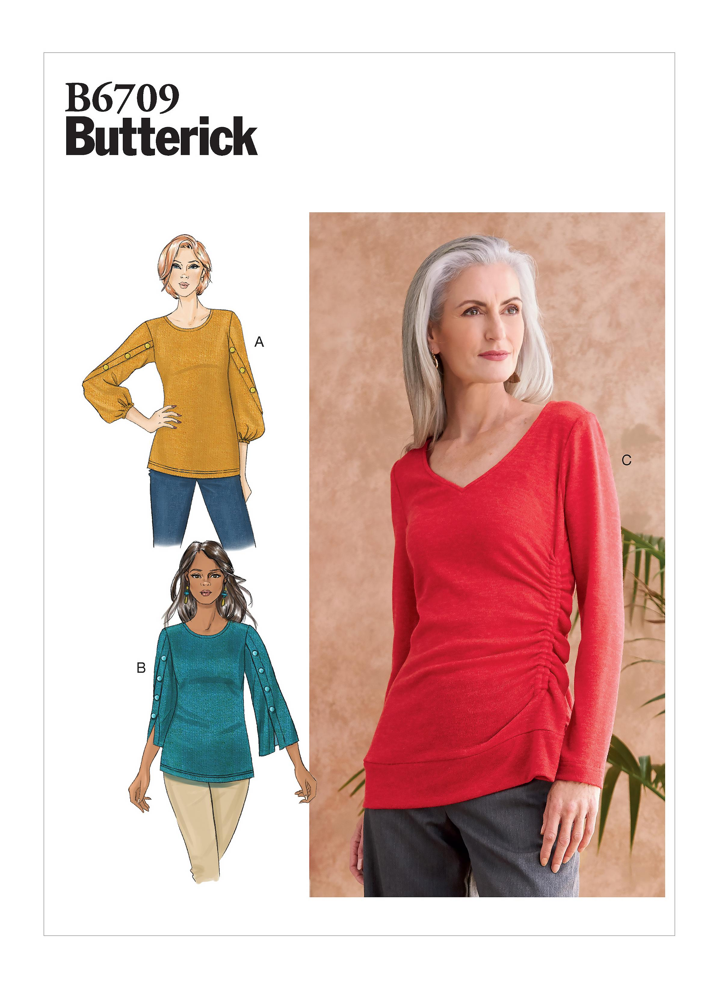 Butterick B6709 Misses' Top