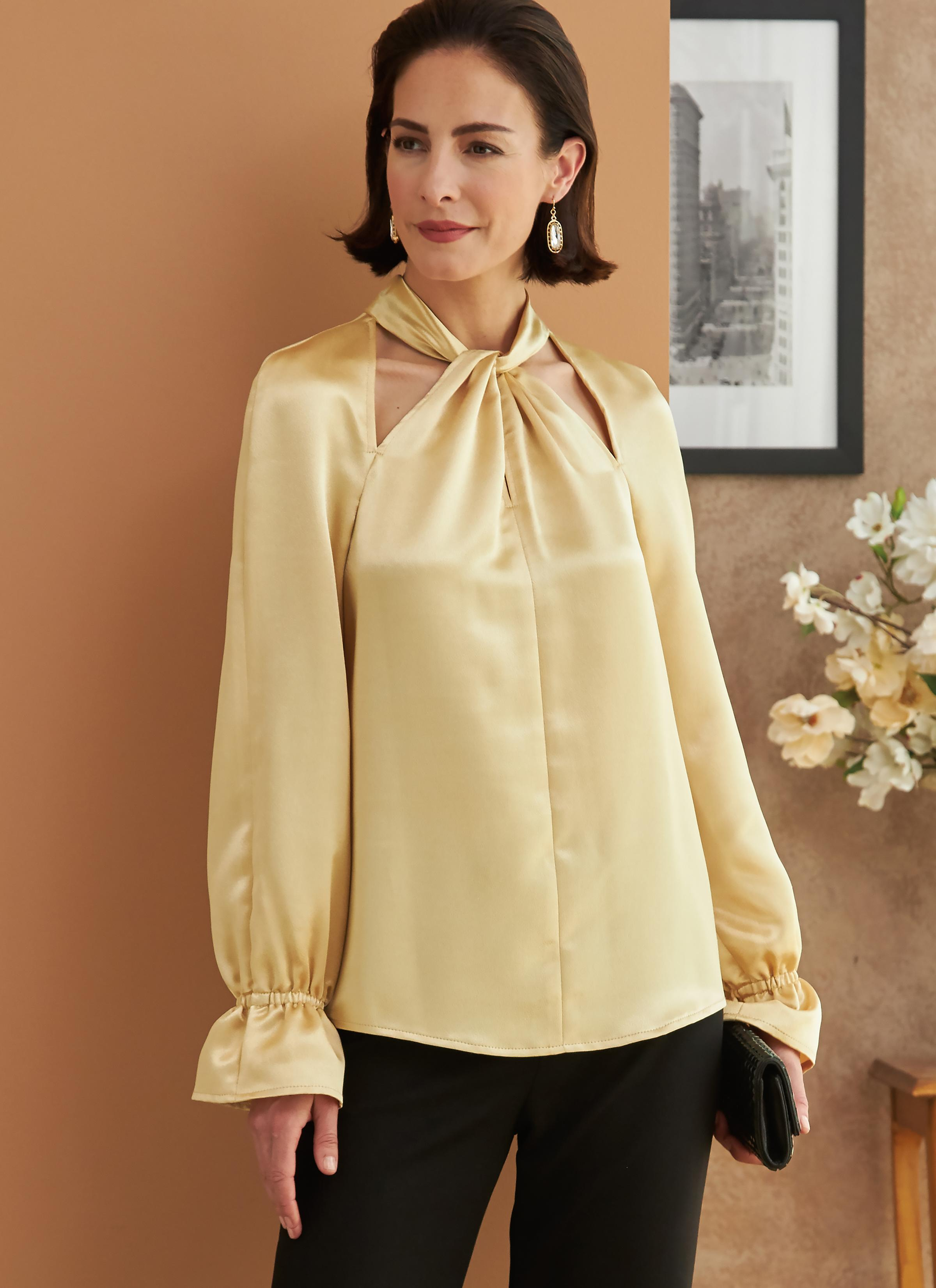 Butterick B6713 Misses' Top