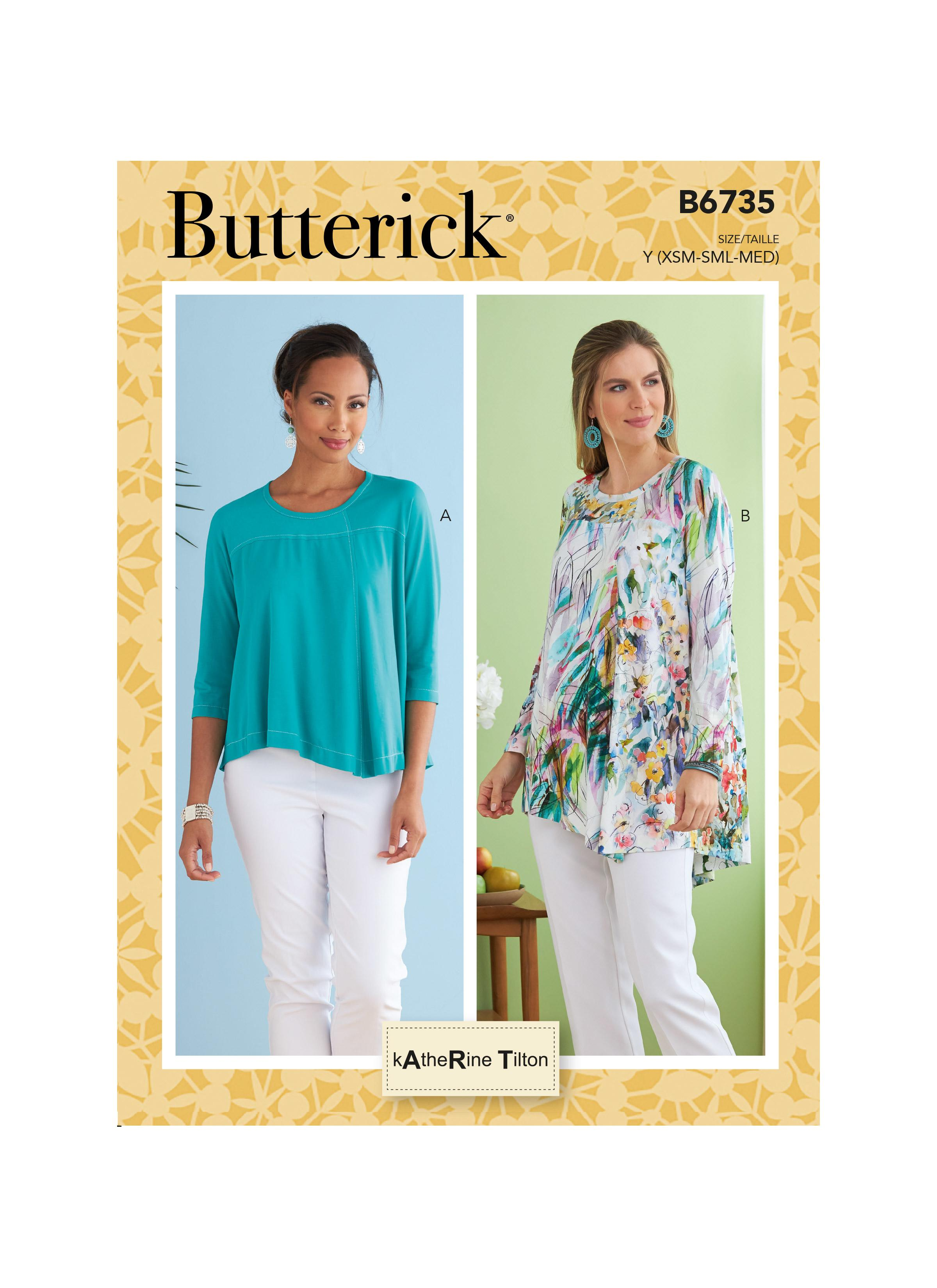 Butterick B6735 Misses' Top