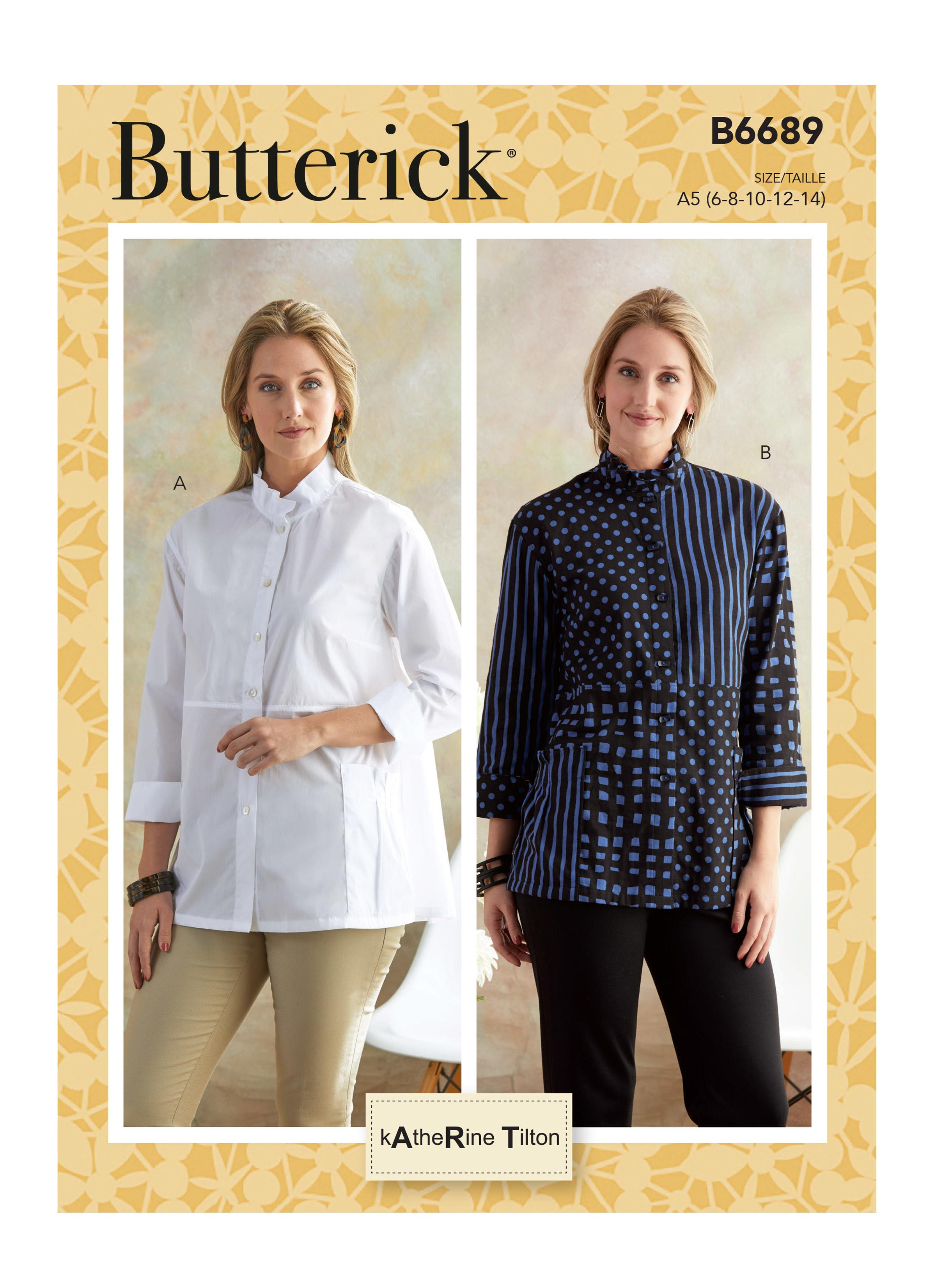 Butterick B6689 Misses' Shirt