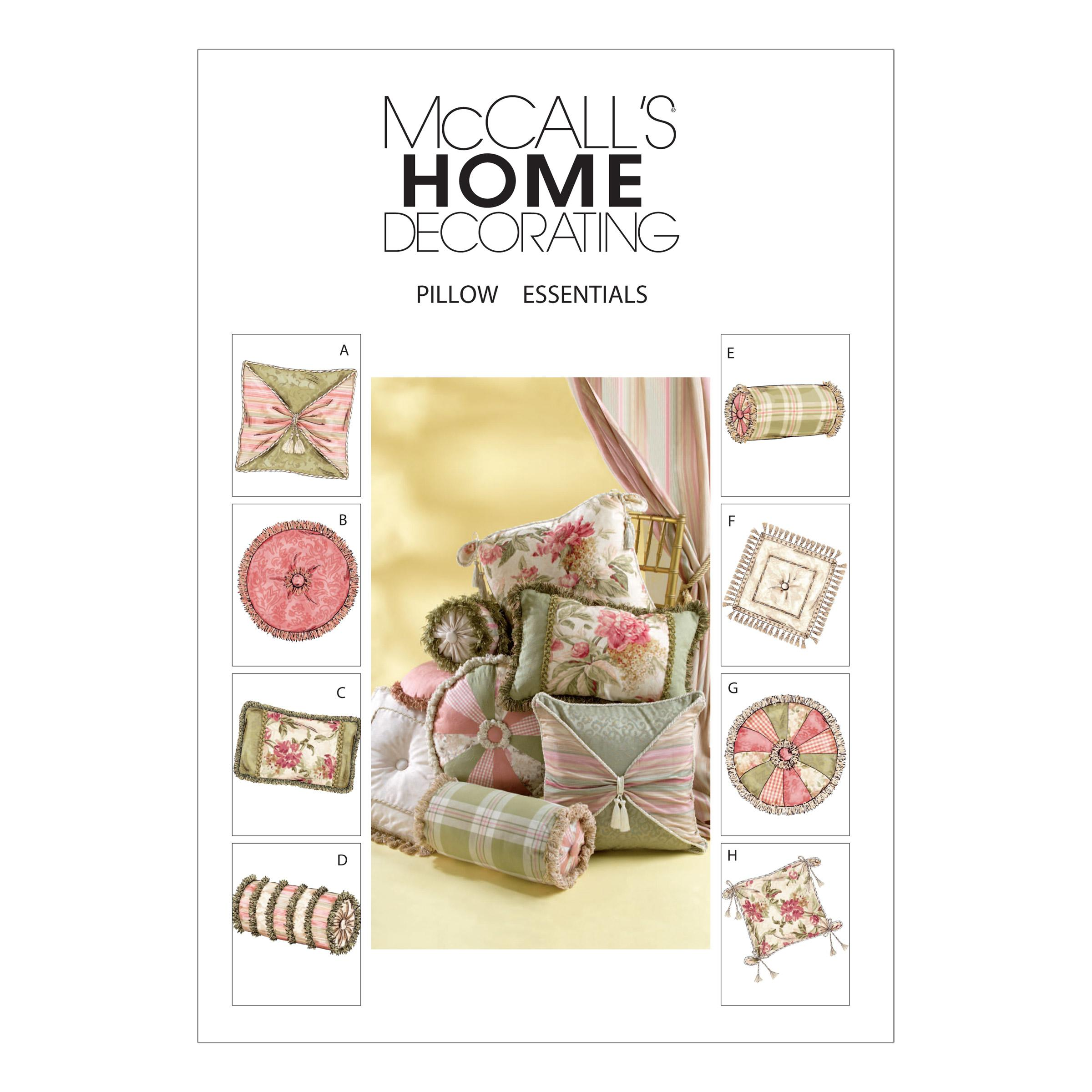 McCalls M4410 Home Decorating, Quilts