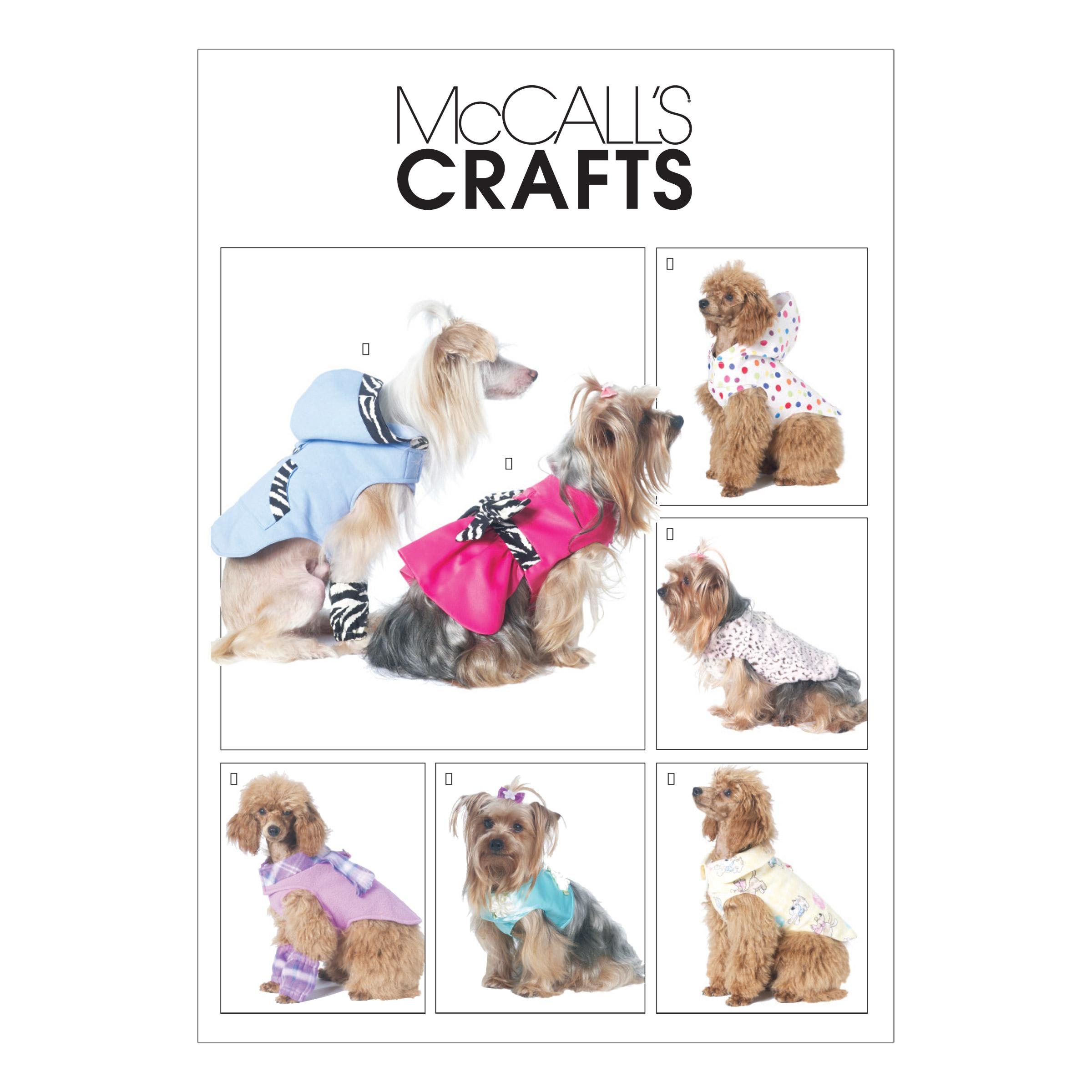 McCalls M6218 Crafts/Dolls/Pets