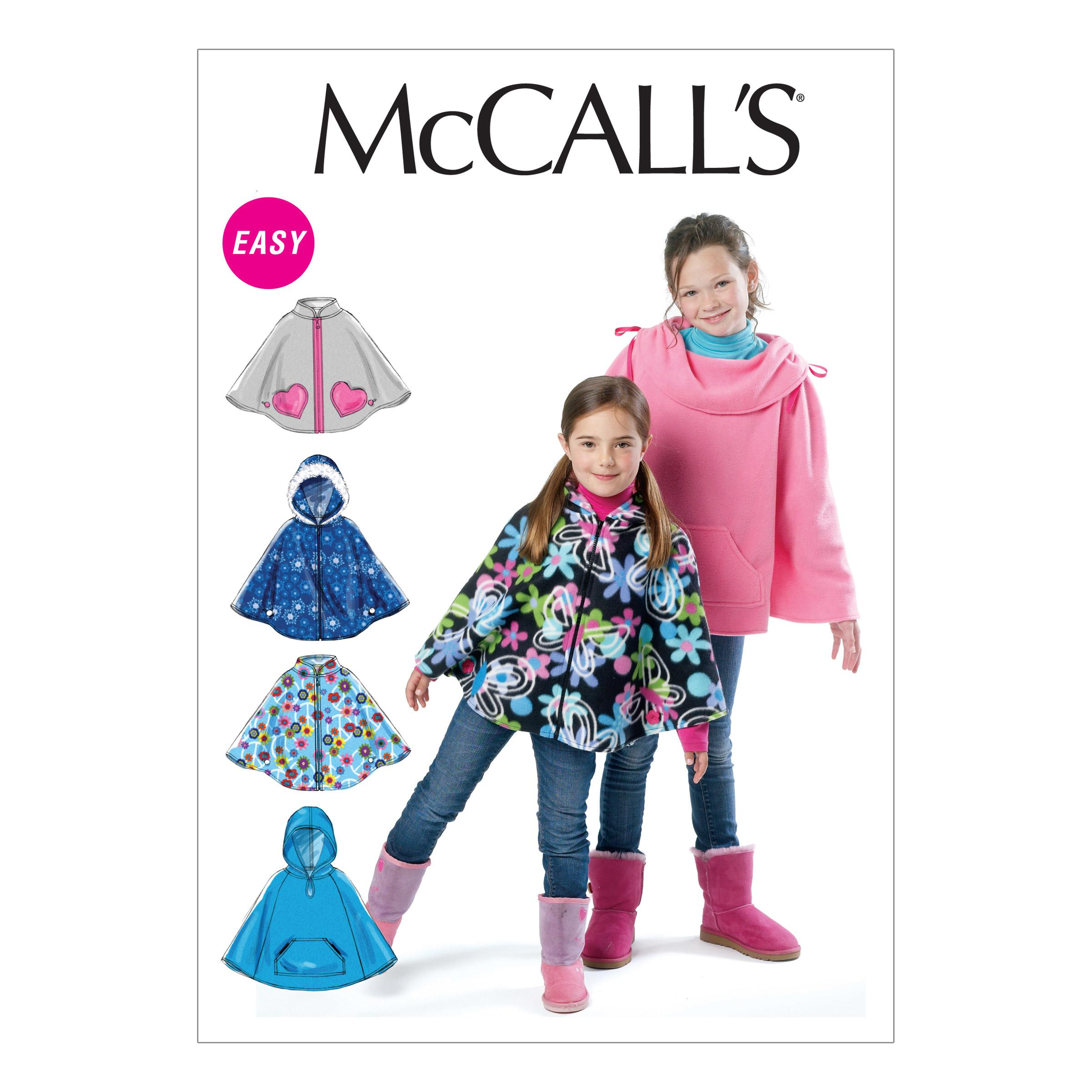 McCalls M6431 Children, Girls/Boys