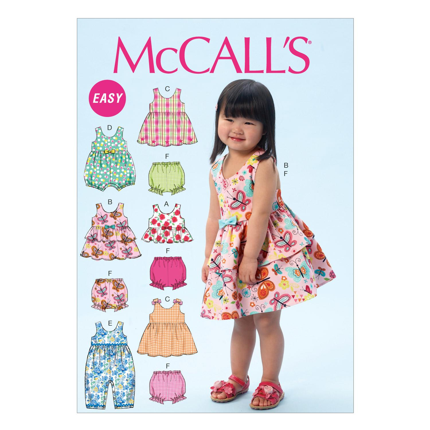 McCalls M6944 Infants/Toddlers