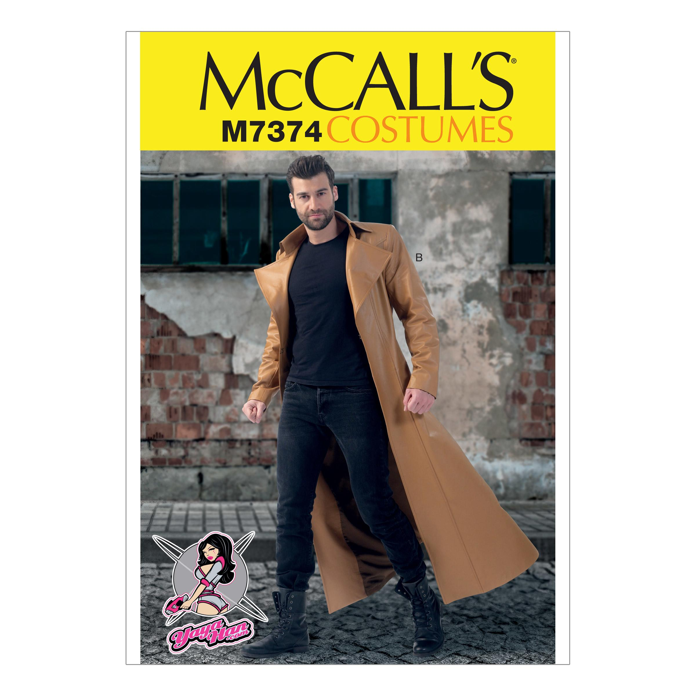 McCalls M7374 Coats, Costumes, Men