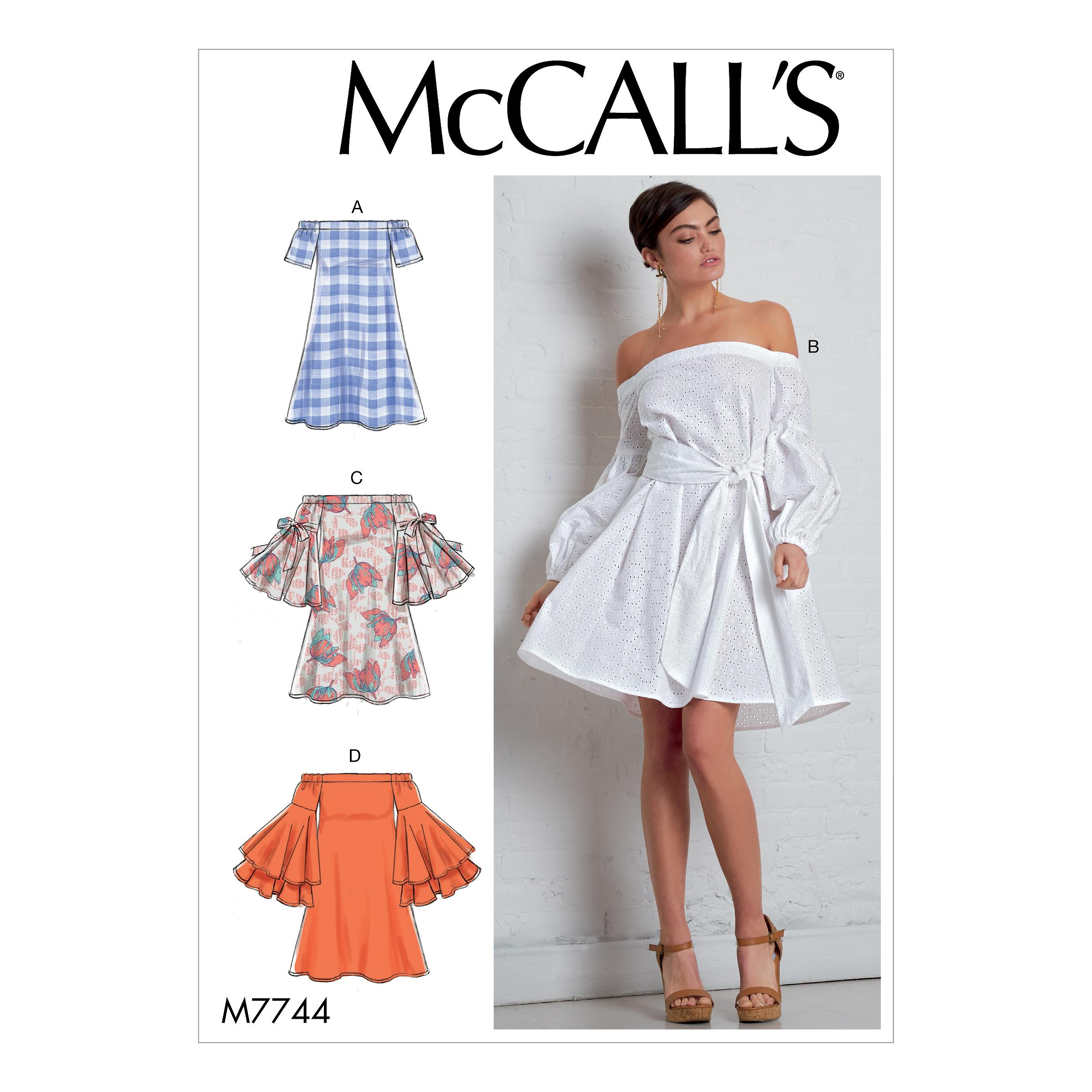 McCalls M7744 Misses Dresses, Misses Prom, Evening & Bridal