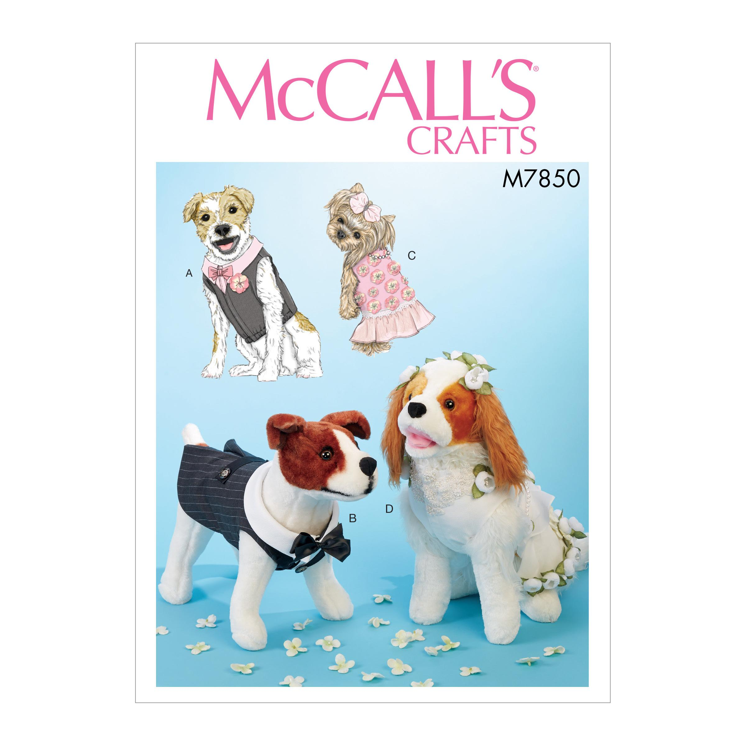 McCalls M7850 Crafts Pets