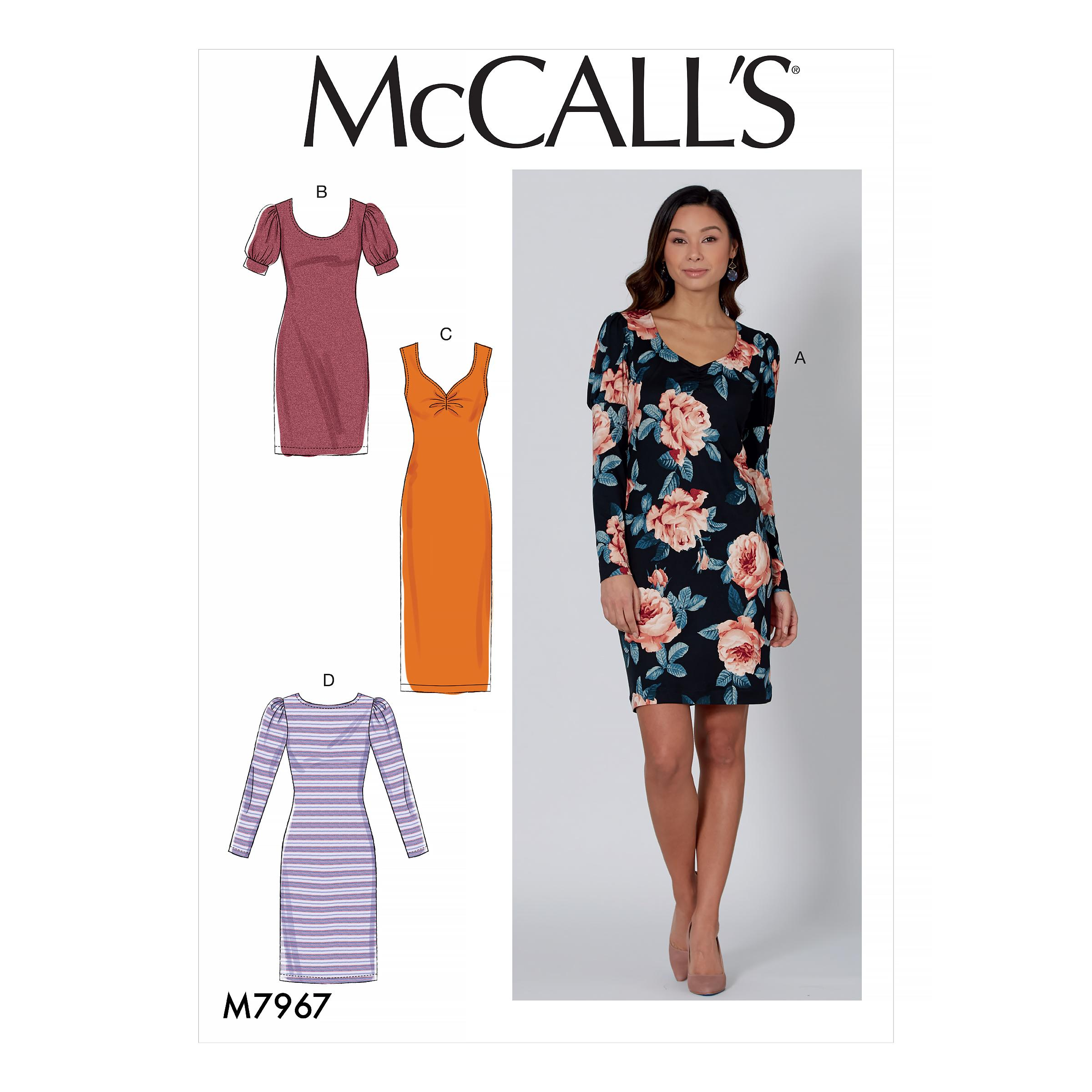 McCalls M7967 Misses Dresses, Misses Prom, Evening & Bridal