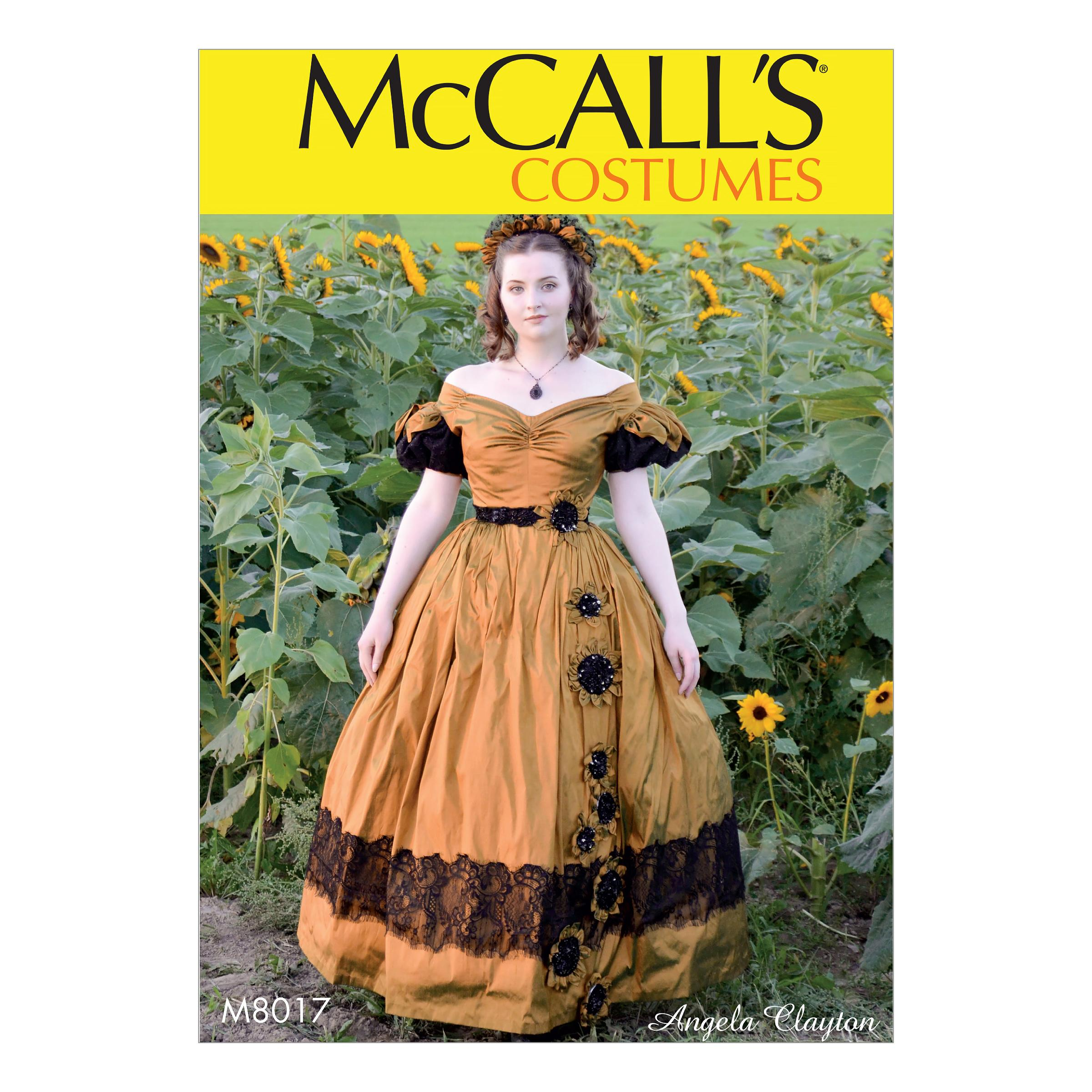 McCalls M8017 Misses , Costumes