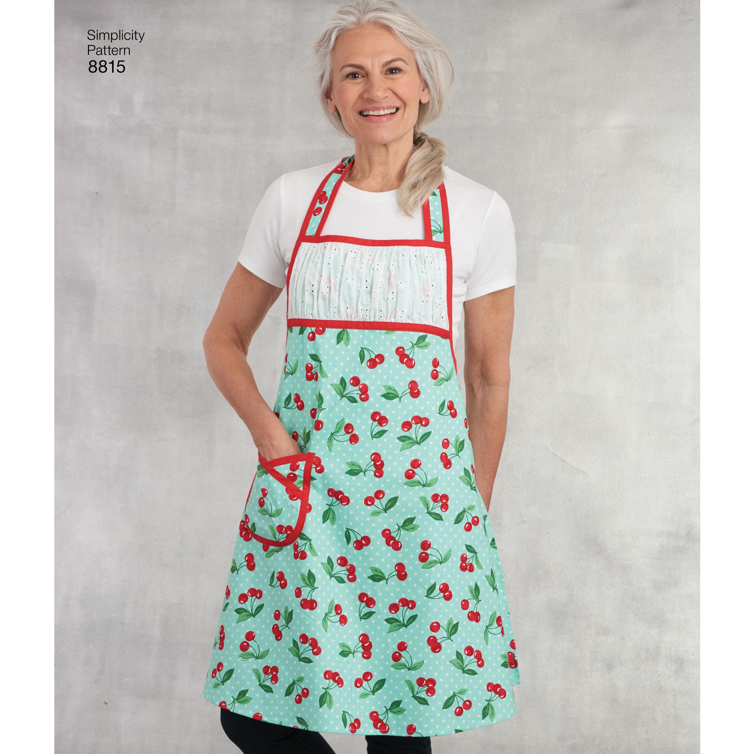 Simplicity S8815 Child's and Misses' Apron